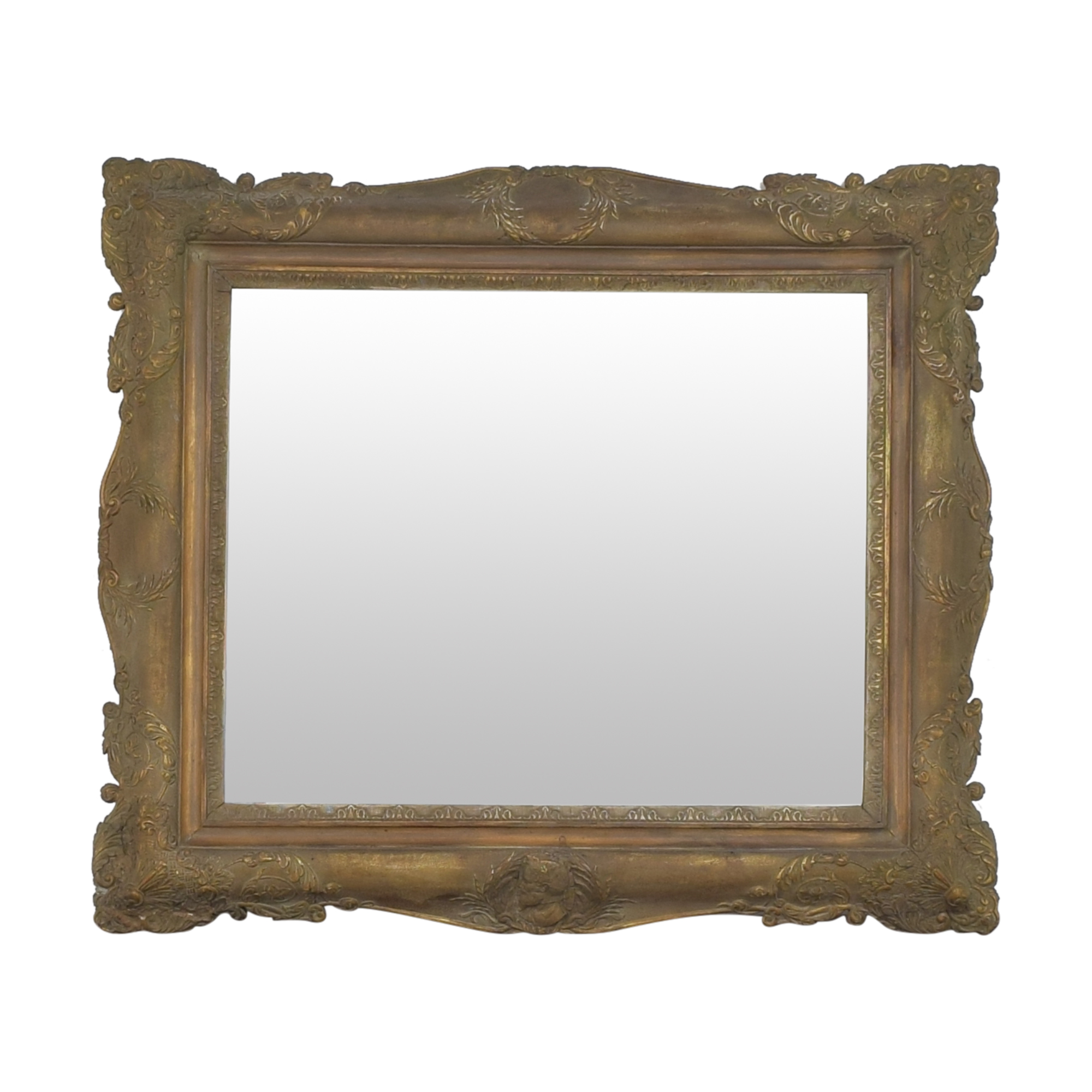 Antique Framed Wall Mirror Mirrors