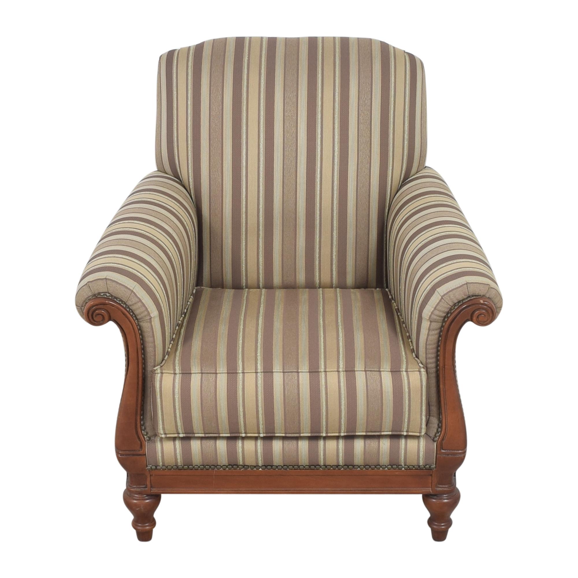 Thomasville Thomasville Stripe Accent Chair discount