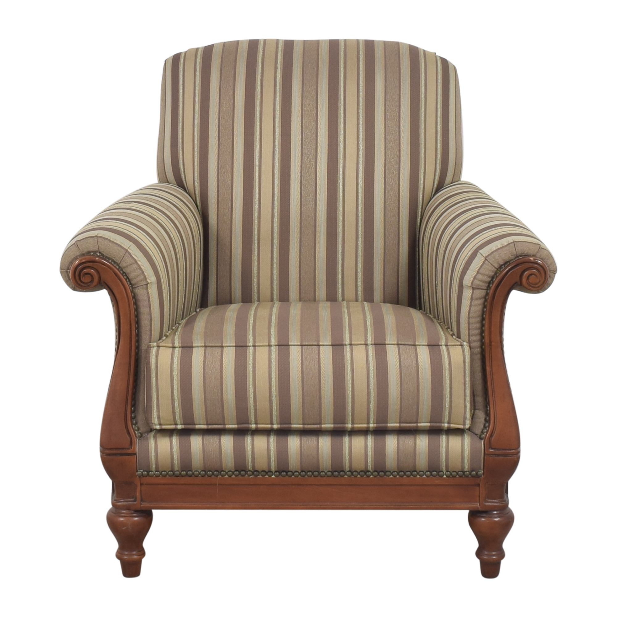 Thomasville Thomasville Stripe Accent Chair pa