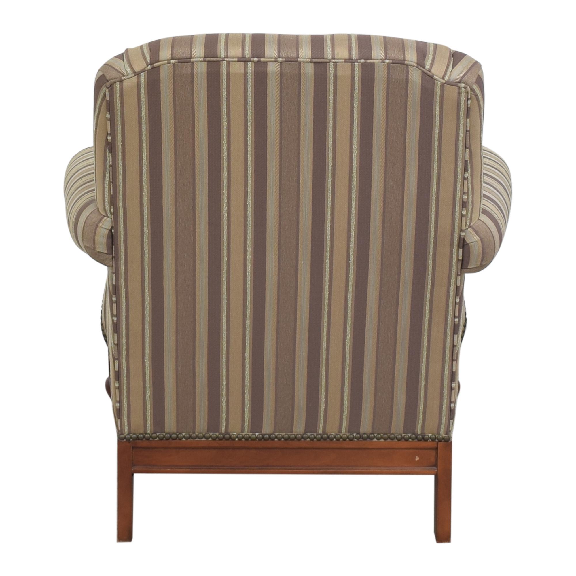 buy Thomasville Stripe Accent Chair Thomasville