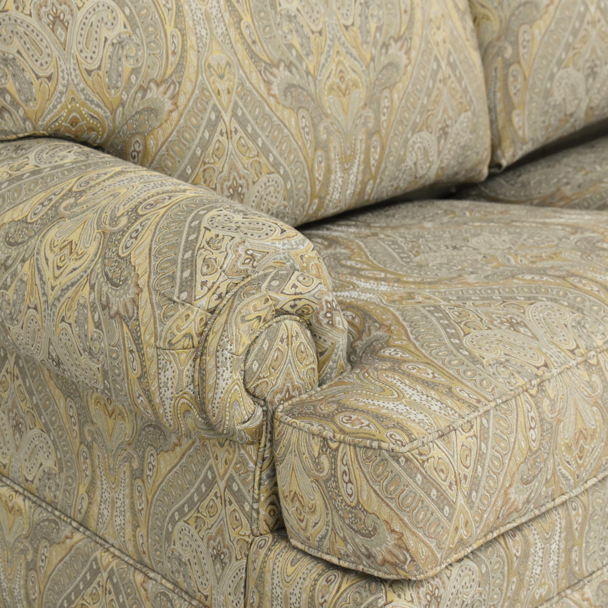 Thomasville Thomasville Paisley Three Cushion Sleeper Sofa nyc
