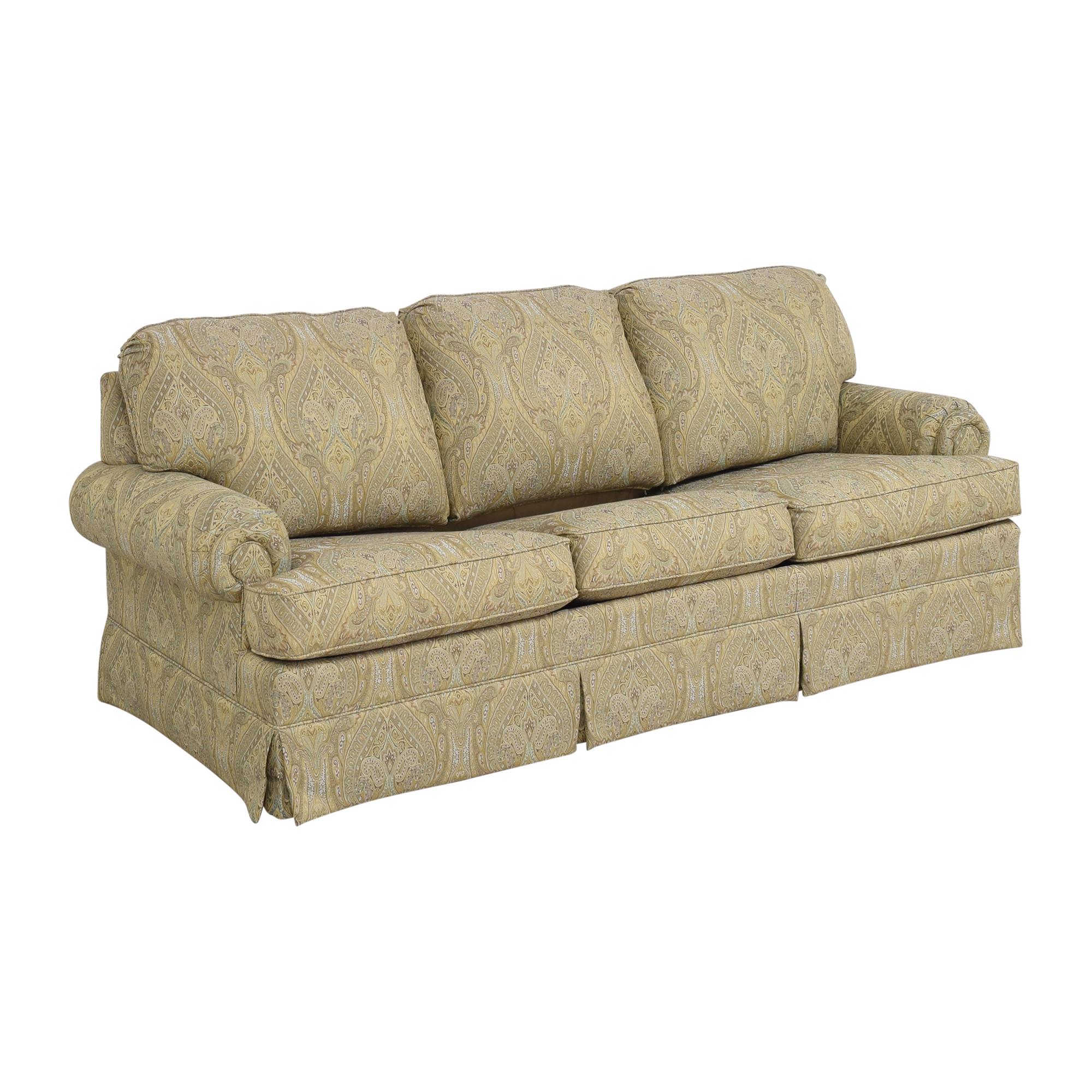 Thomasville Thomasville Paisley Three Cushion Sleeper Sofa for sale