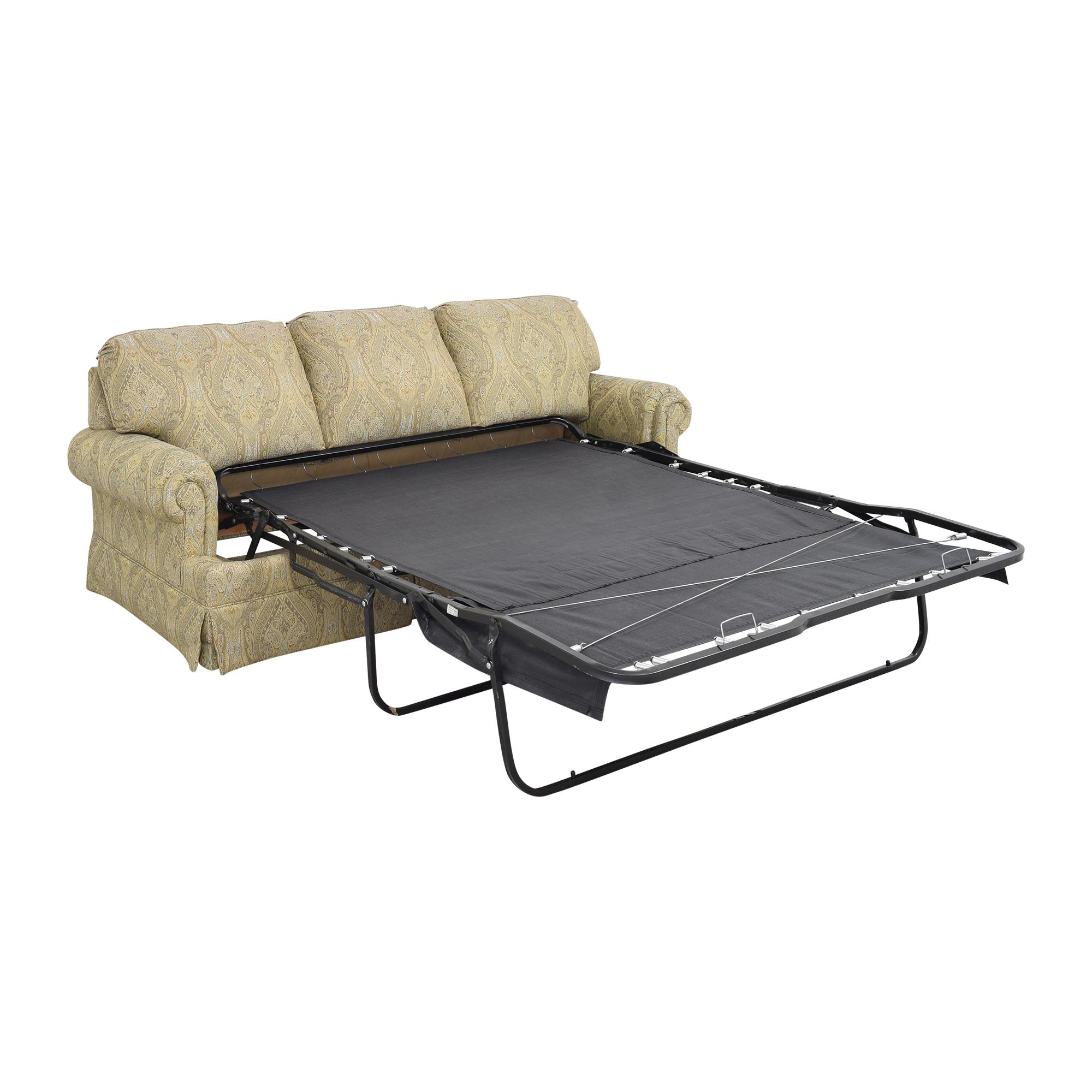 Thomasville Thomasville Paisley Three Cushion Sleeper Sofa ct
