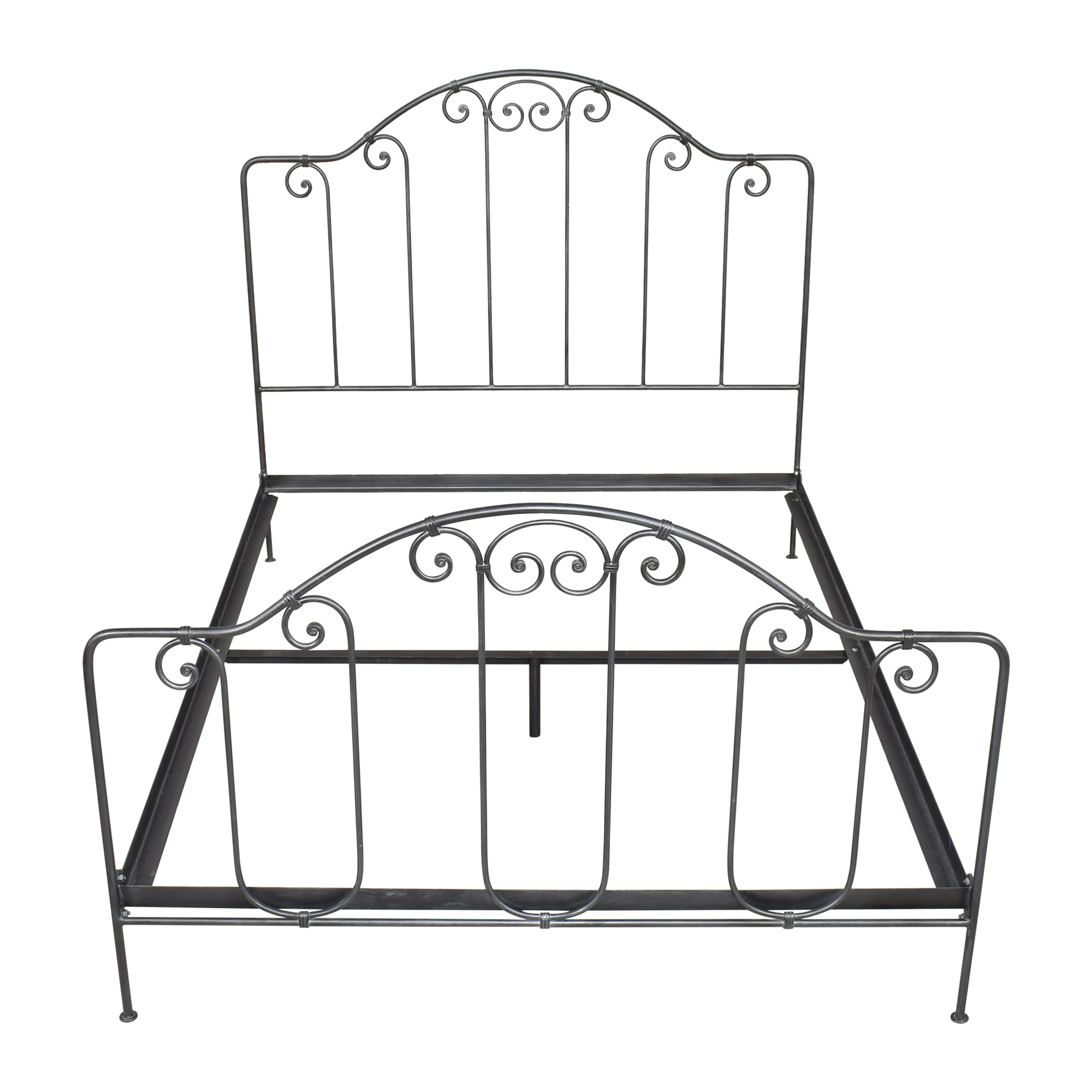 Charles P. Rogers Breton Queen Bed sale