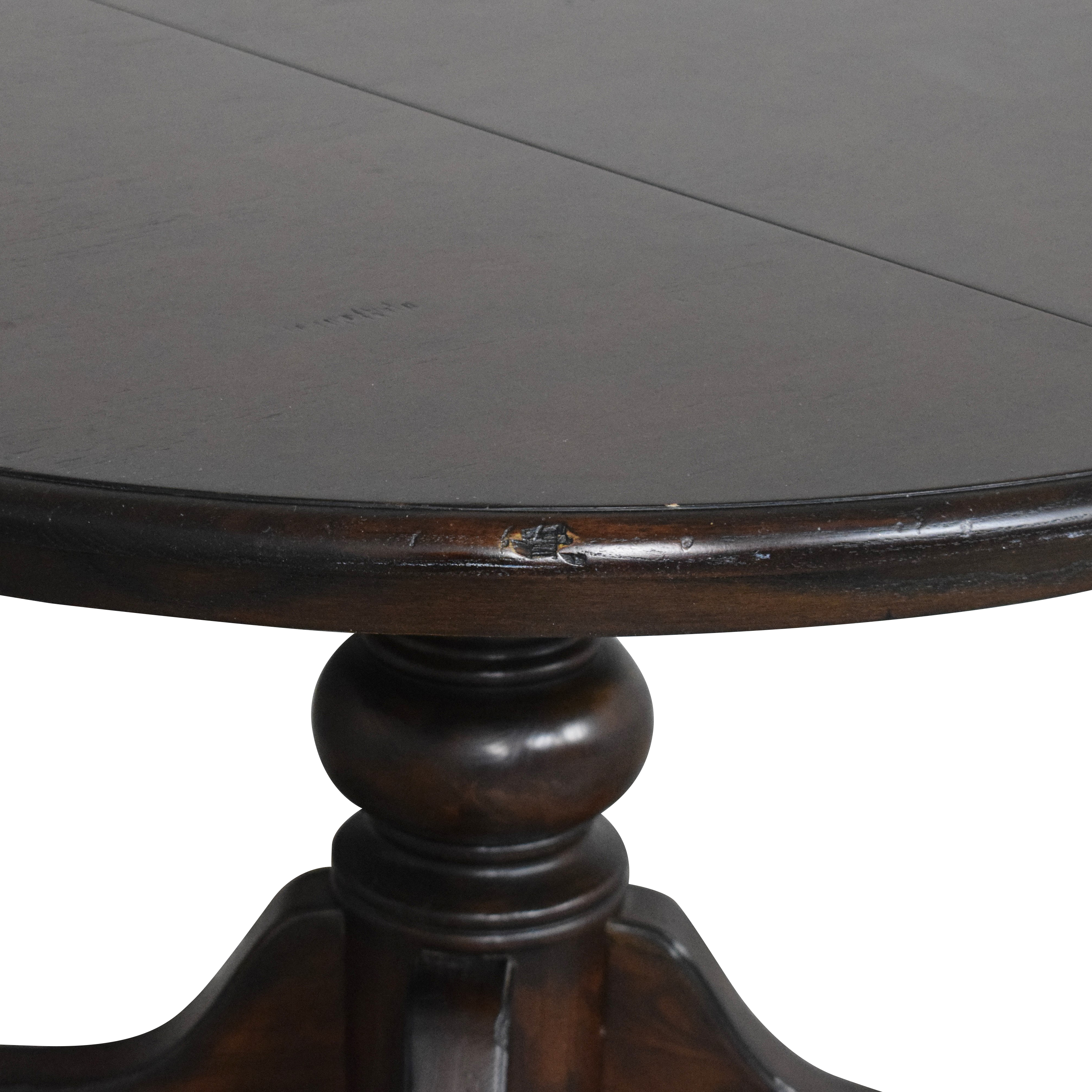 buy Pottery Barn Harvest Pedestal Dining Table  Pottery Barn Dinner Tables