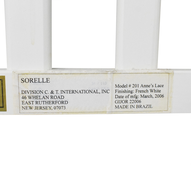 buy Sorelle Furniture Anne's Lace Full Bed Sorelle Furniture