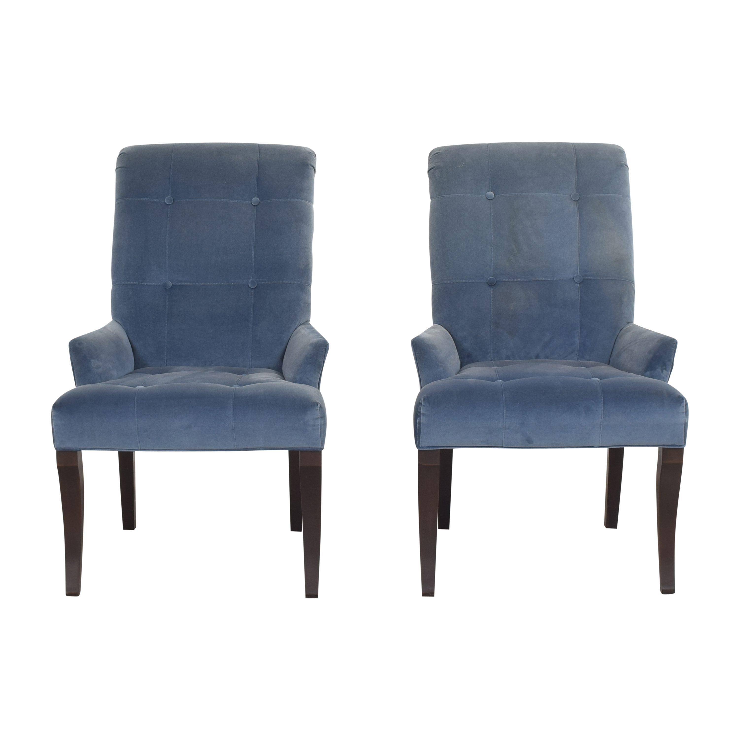 Ethan Allen Ethan Allen Verlaine Dining Chairs dimensions