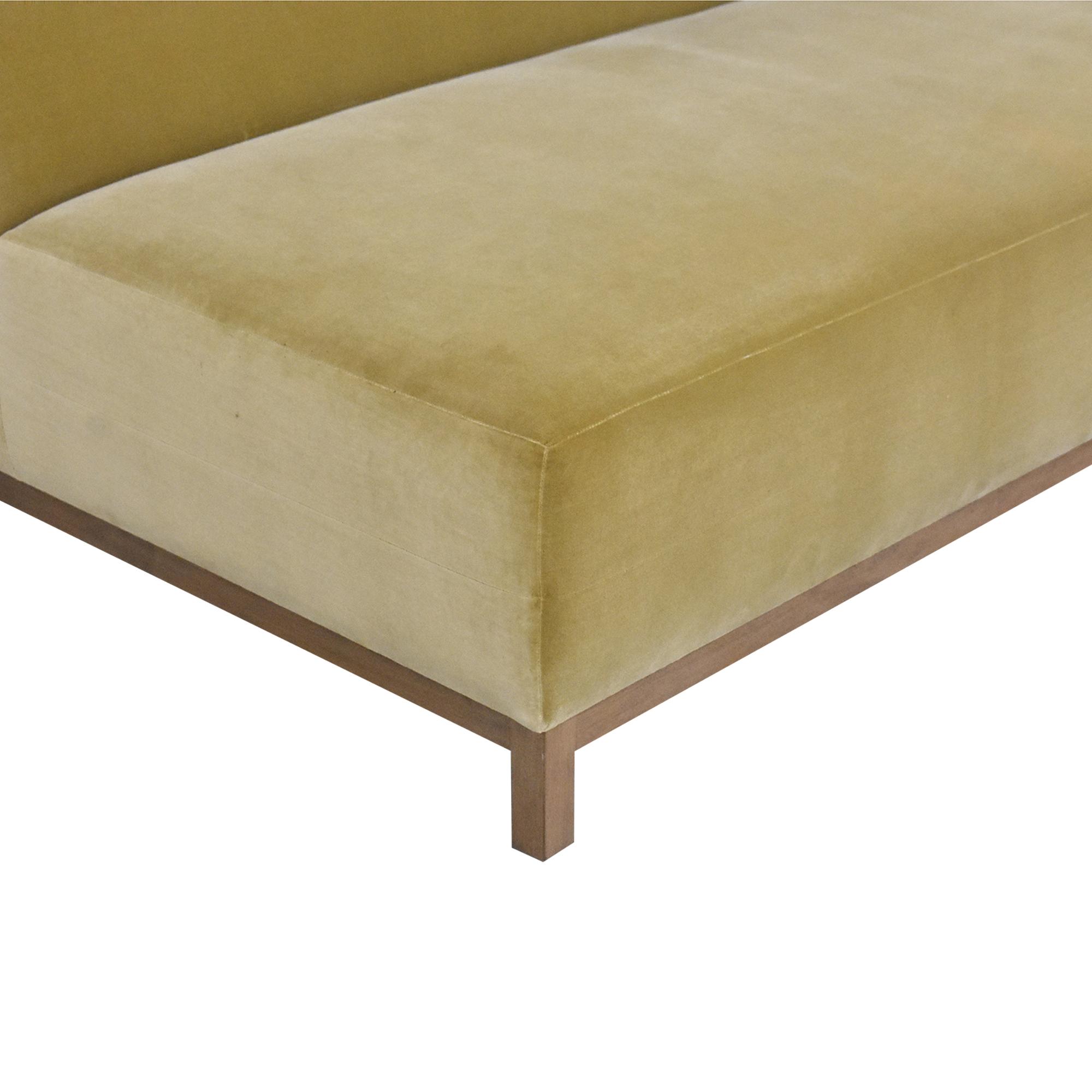 shop ROOM Bruno Custom Reversible Sectional Sofa ROOM