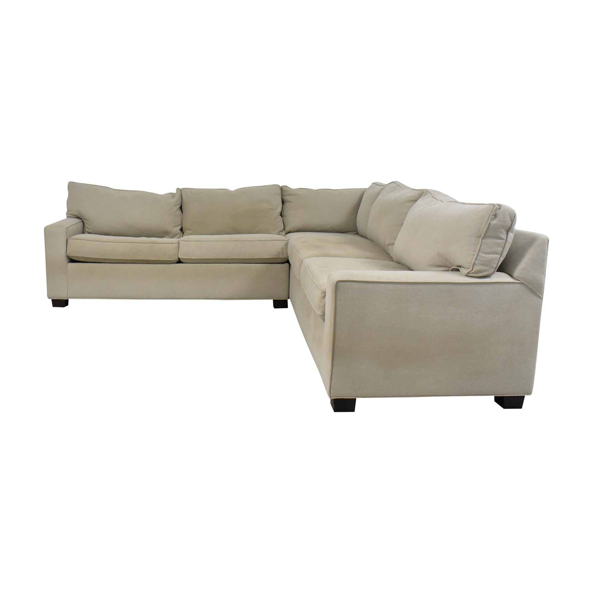 Mitchell Gold + Bob Williams Mitchell Gold + Bob Williams Sectional Sleeper Sofa discount