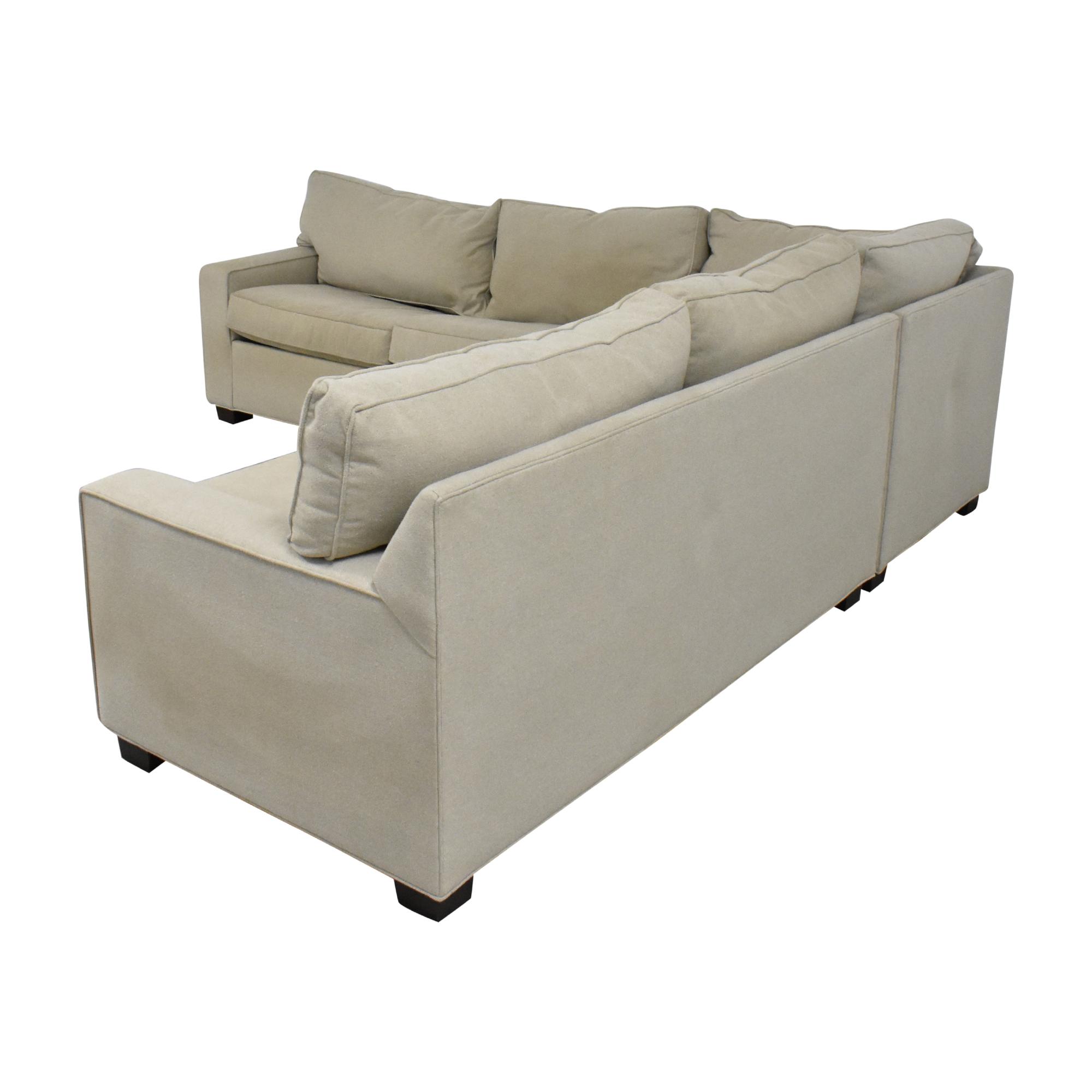 buy Mitchell Gold + Bob Williams Mitchell Gold + Bob Williams Sectional Sleeper Sofa online