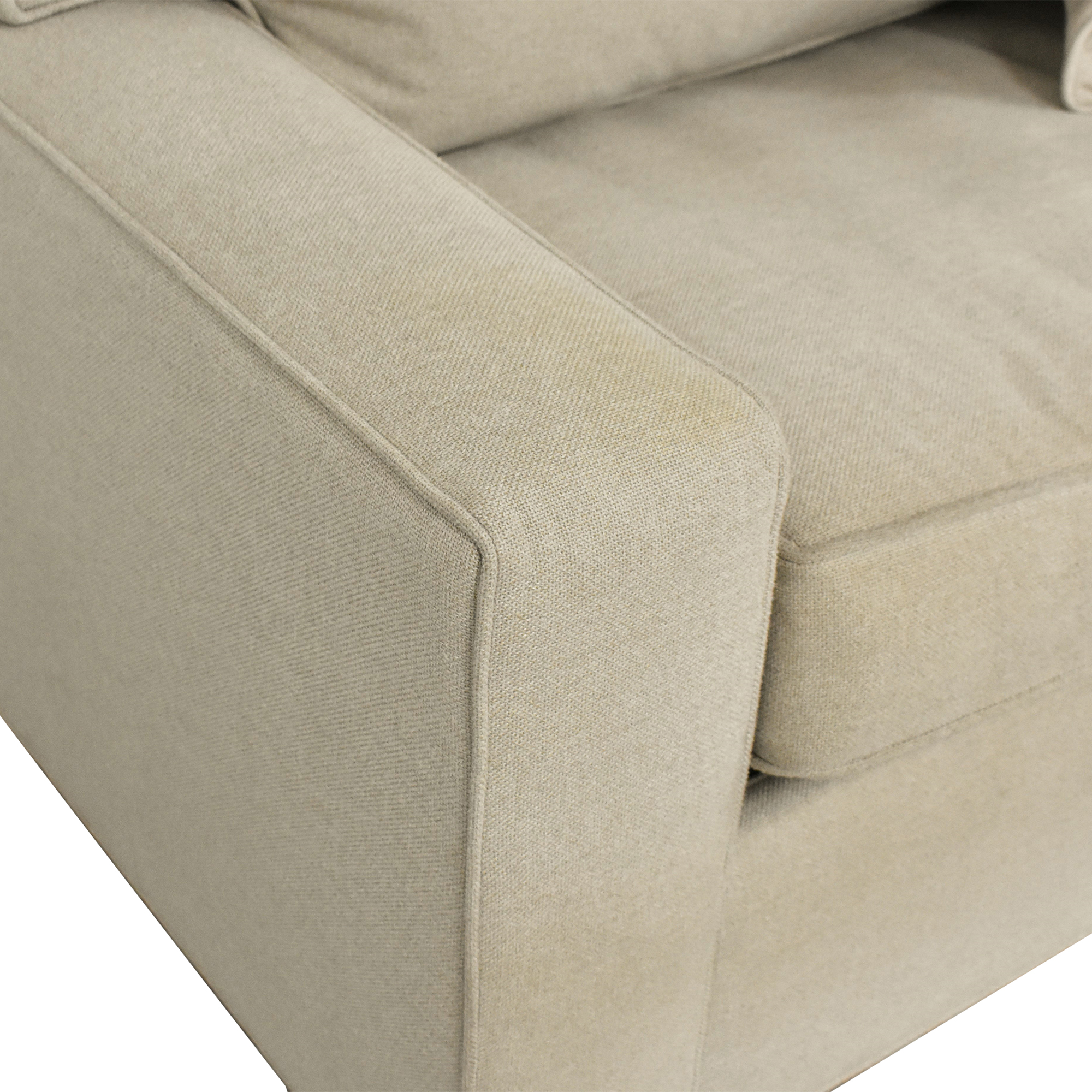 shop Mitchell Gold + Bob Williams Sectional Sleeper Sofa Mitchell Gold + Bob Williams Sofas