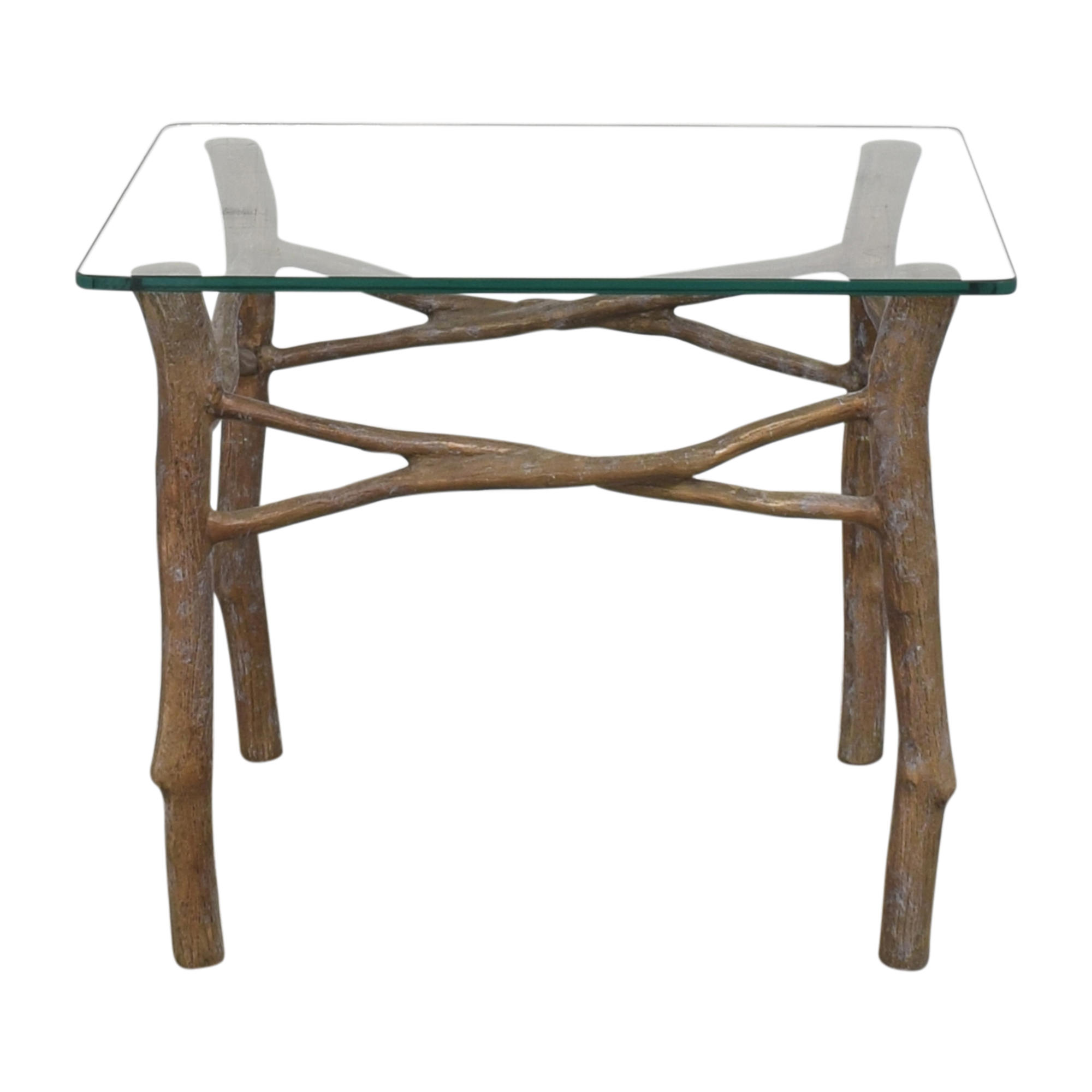 Branch Leg Accent Table brown