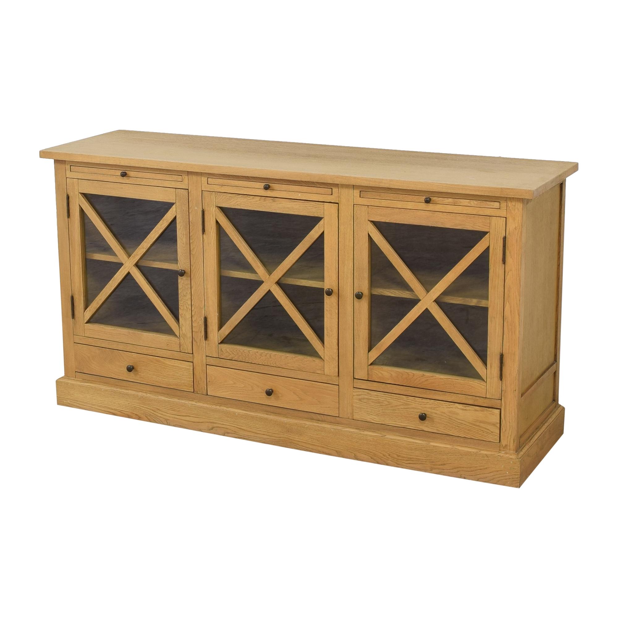 shop Ballard Designs Belgard Console Ballard Designs Cabinets & Sideboards