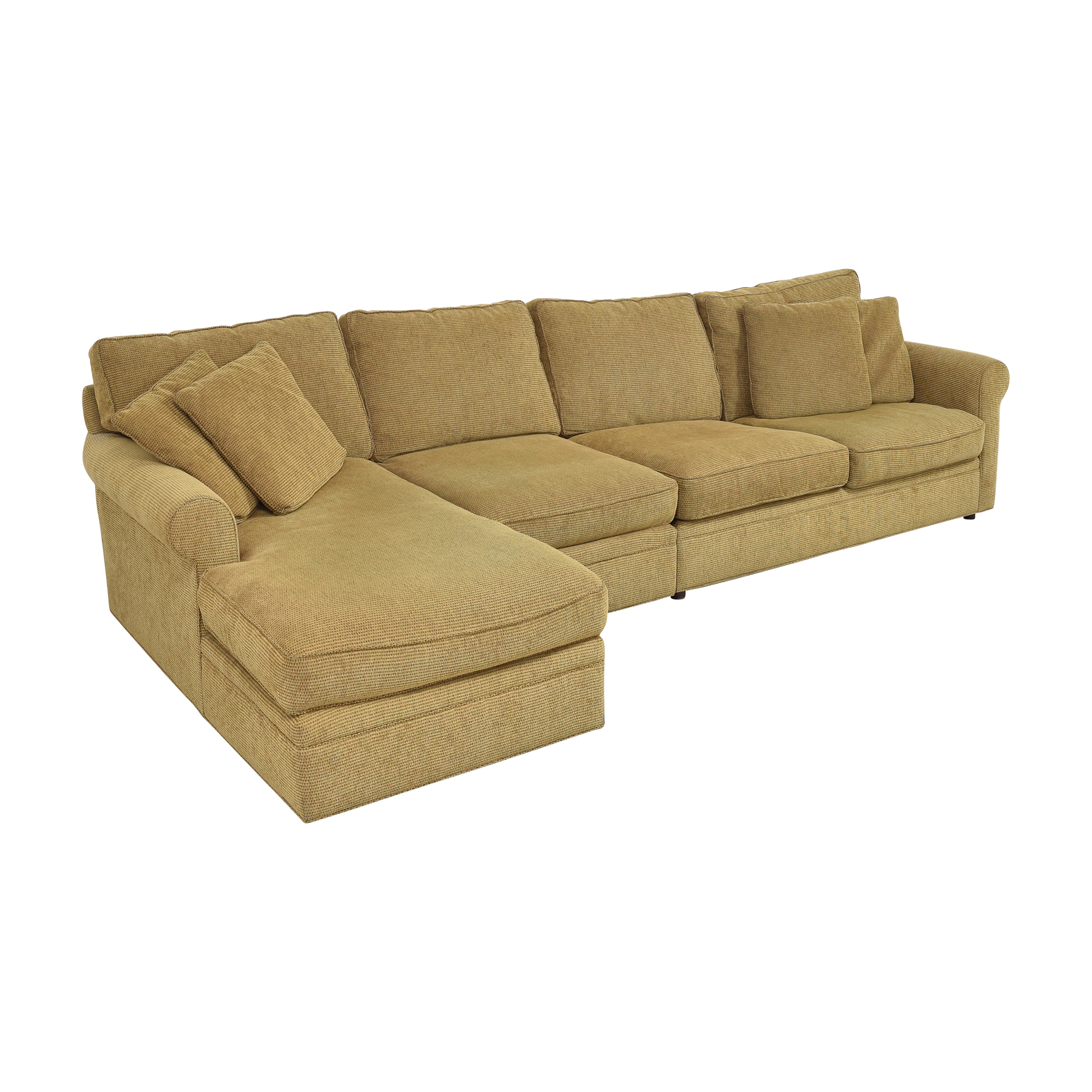 Crate & Barrel Crate & Barrel Chaise Sectional Sleeper Sofa nyc