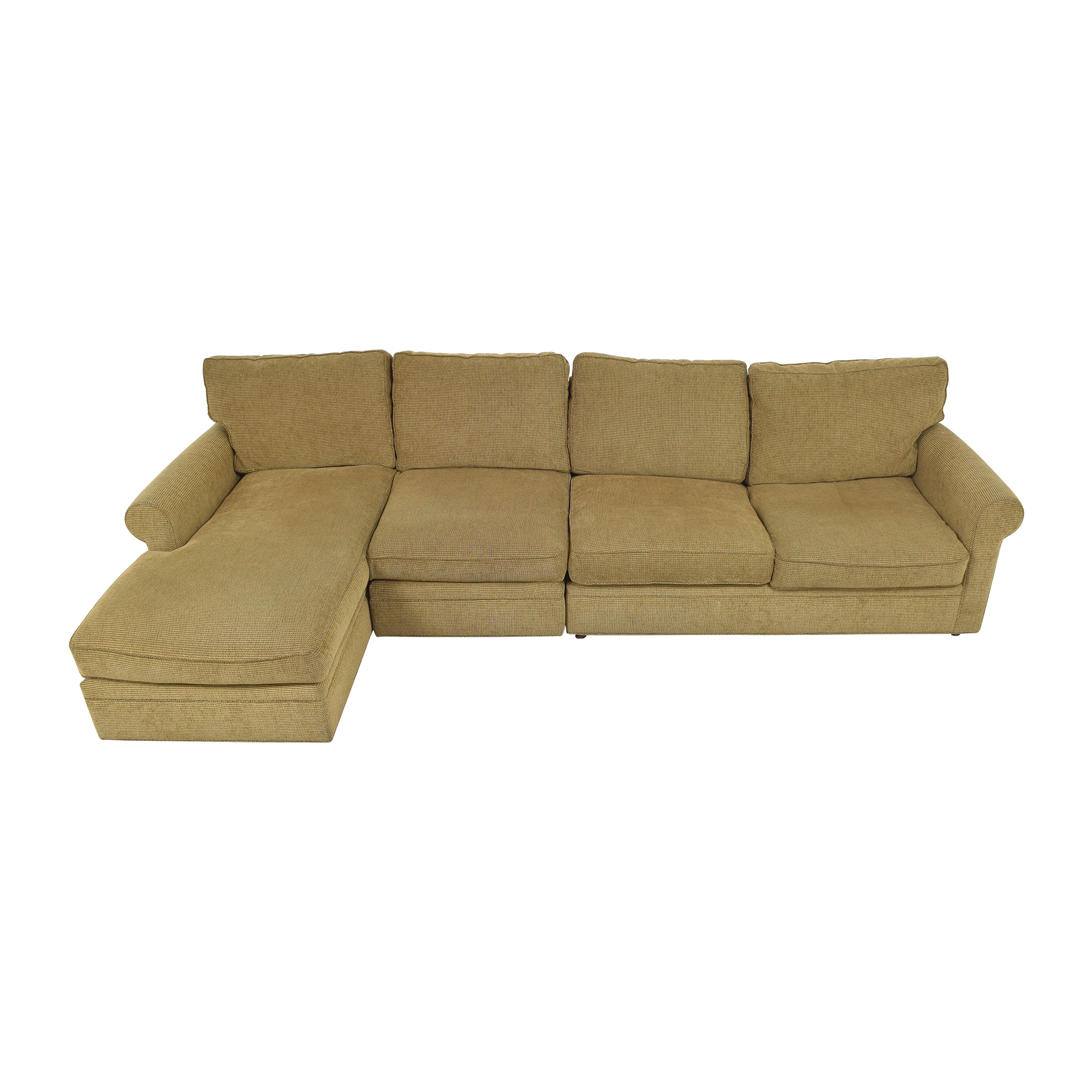 Crate & Barrel Crate & Barrel Chaise Sectional Sleeper Sofa Sectionals
