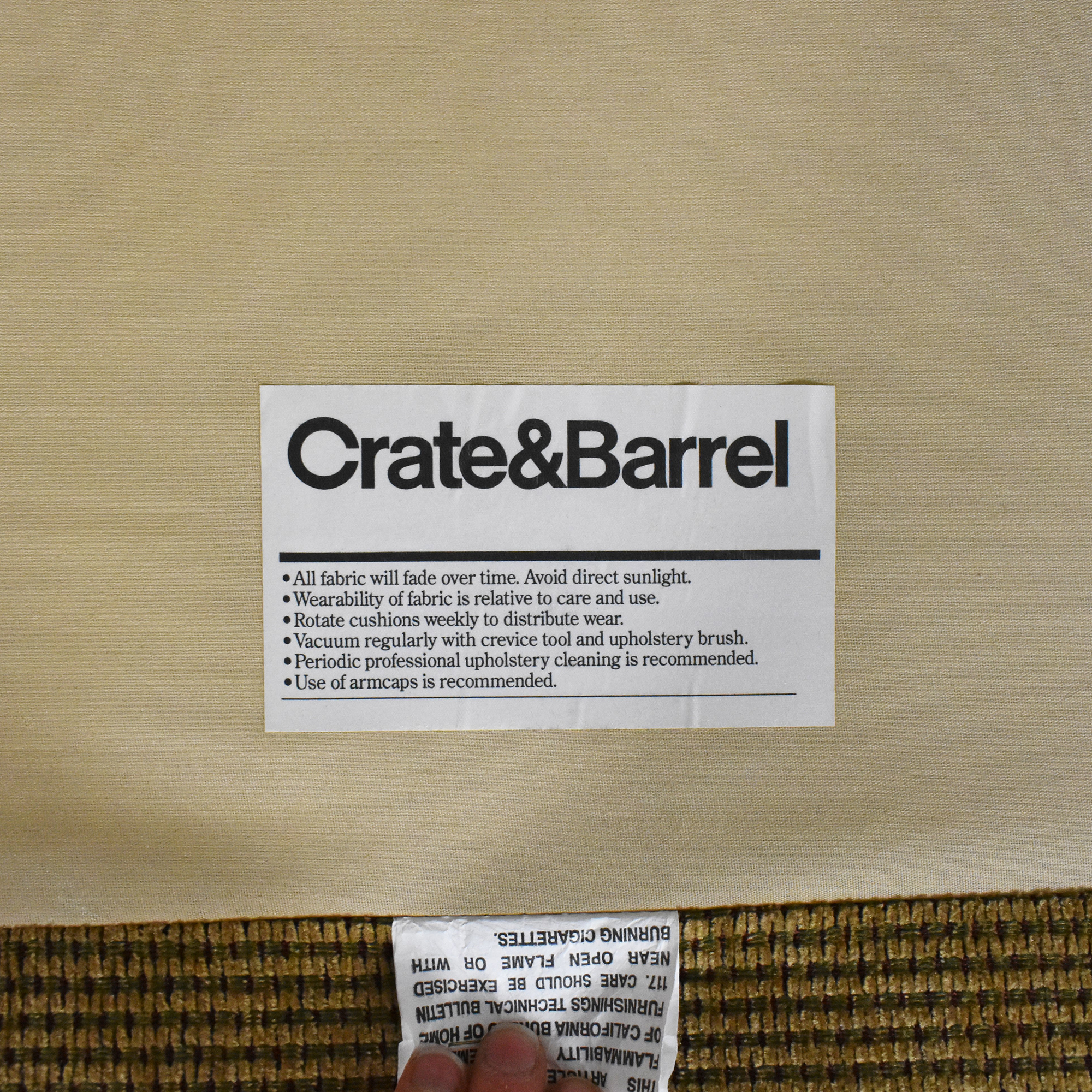 buy Crate & Barrel Chaise Sectional Sleeper Sofa Crate & Barrel Sofas