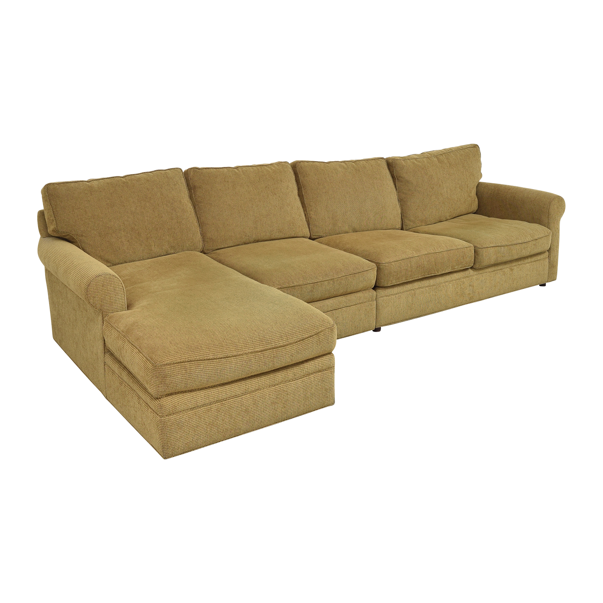 Crate & Barrel Chaise Sectional Sleeper Sofa Crate & Barrel