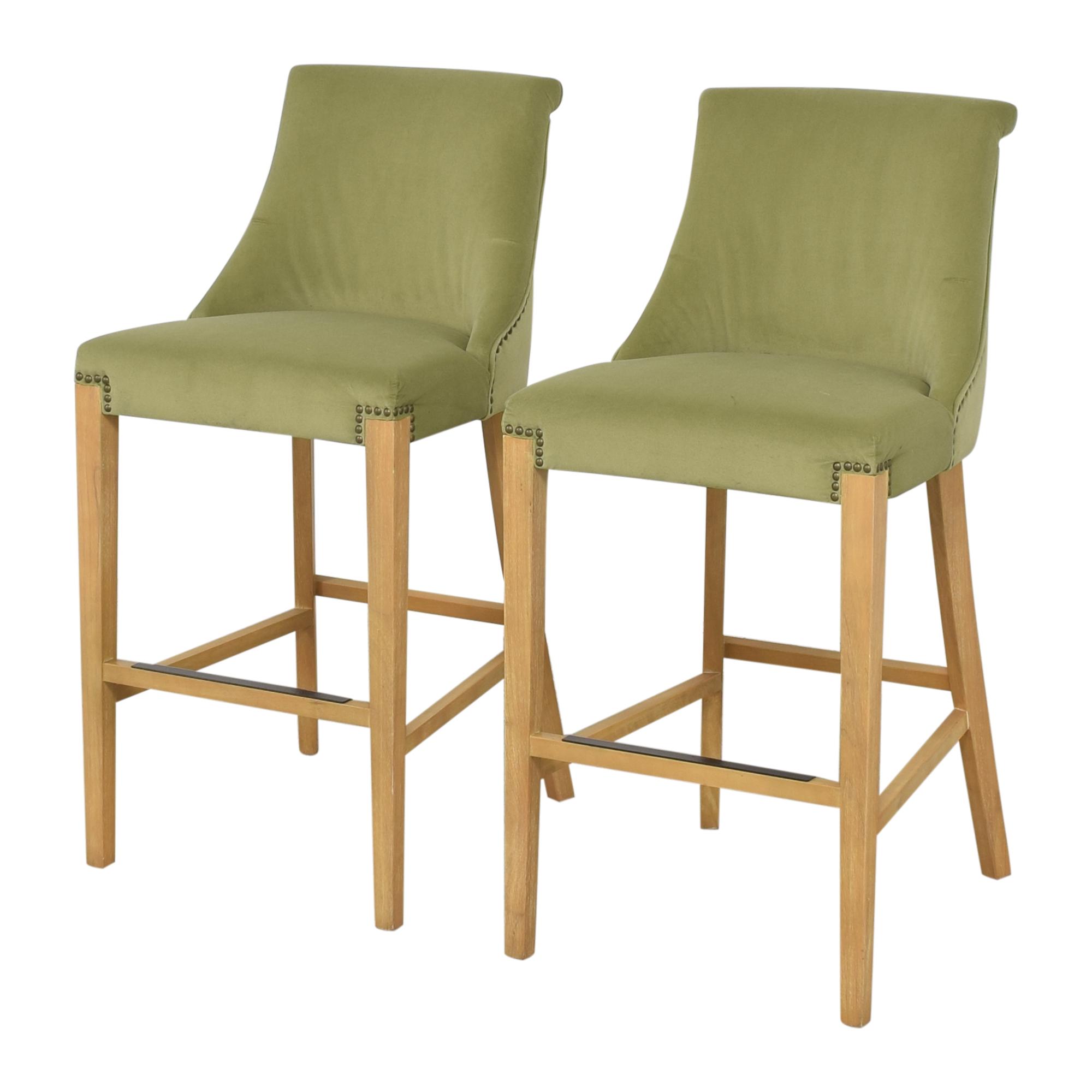 shop Jason Furniture Jason Furniture Nailhead Trim Bar Stools online