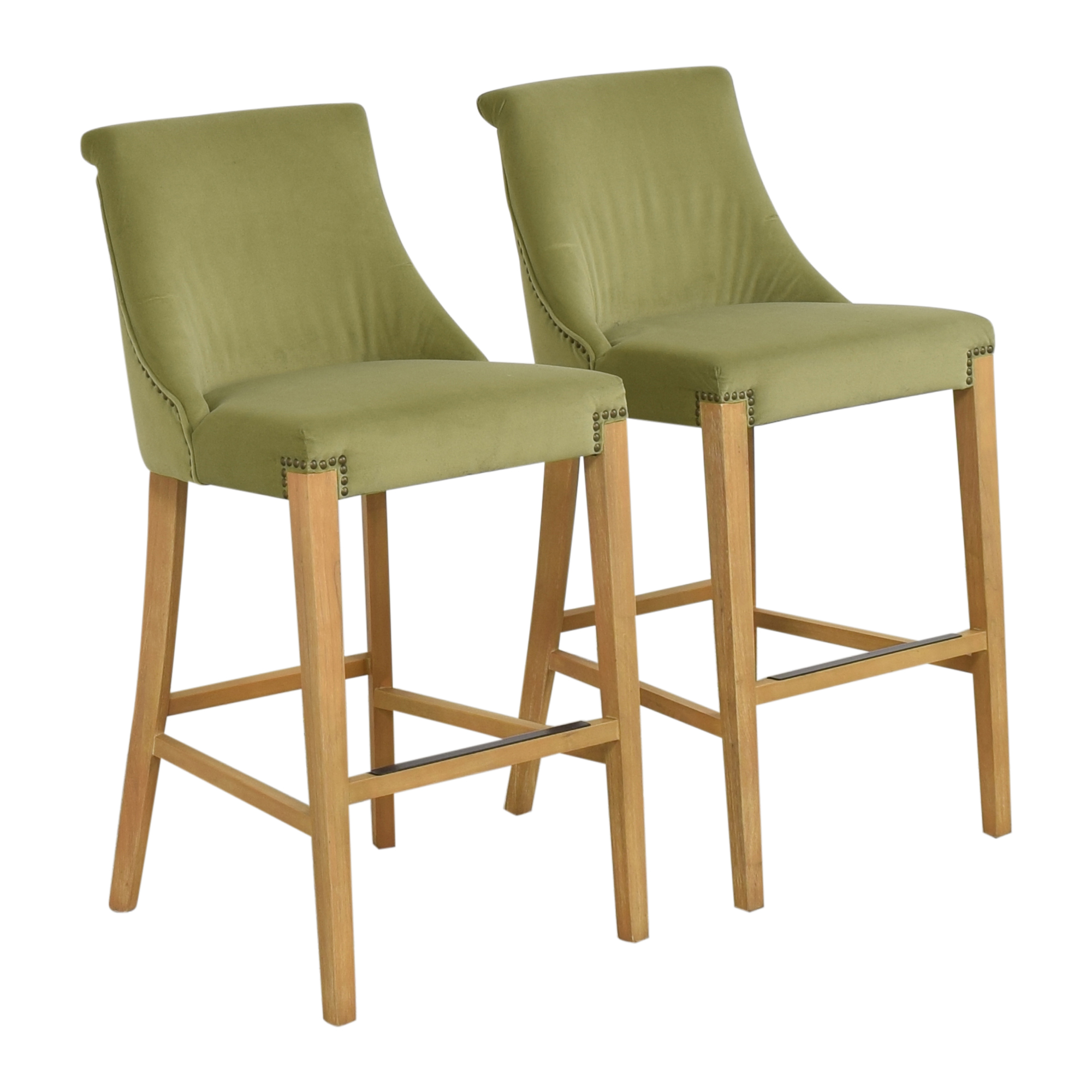 shop Jason Furniture Nailhead Trim Bar Stools Jason Furniture Stools