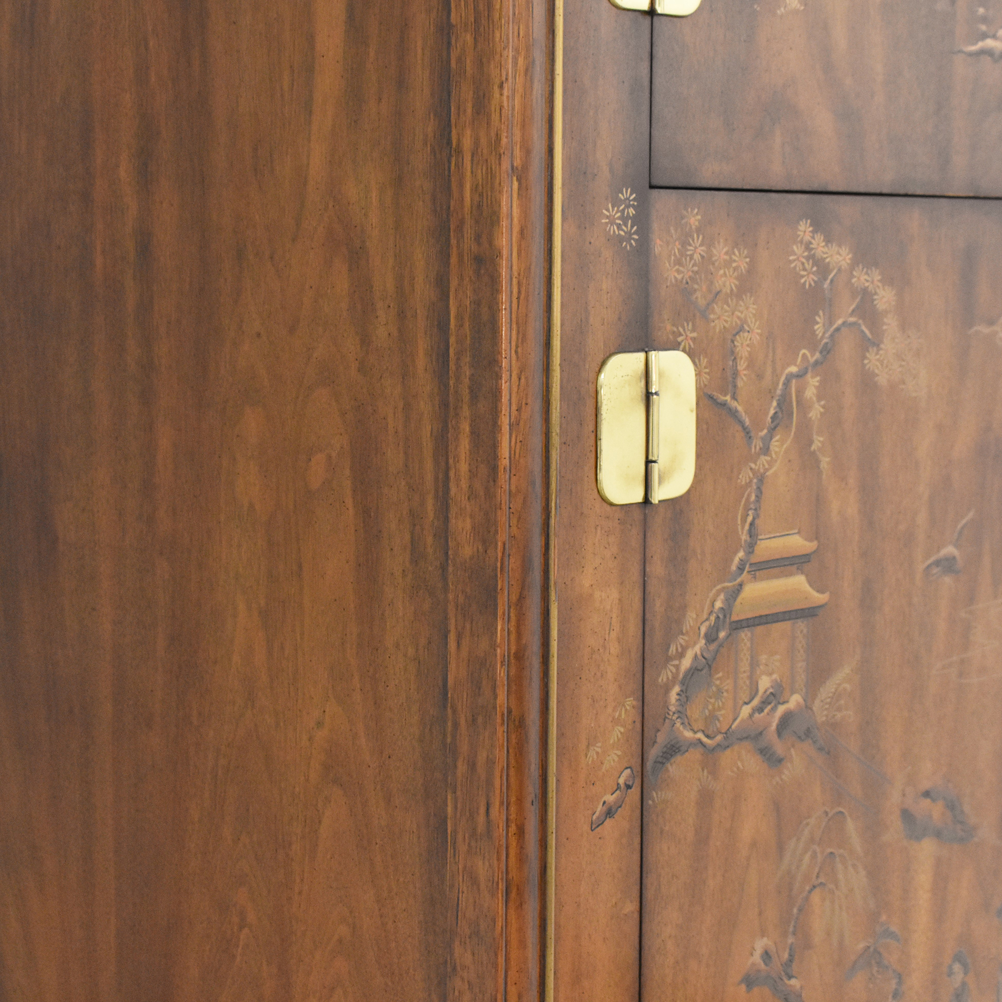 Drexel Heritage Dynasty Collection Campaign Armoire / Wardrobes & Armoires