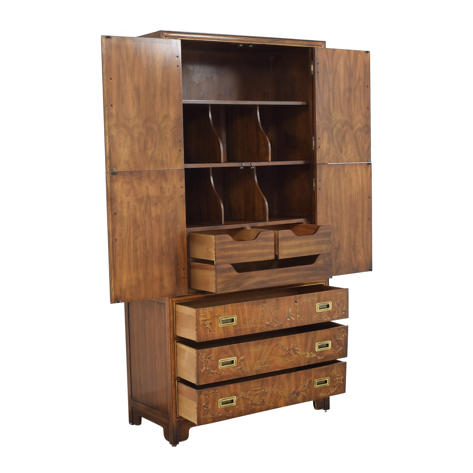 Drexel Heritage Drexel Heritage Dynasty Collection Campaign Armoire pa