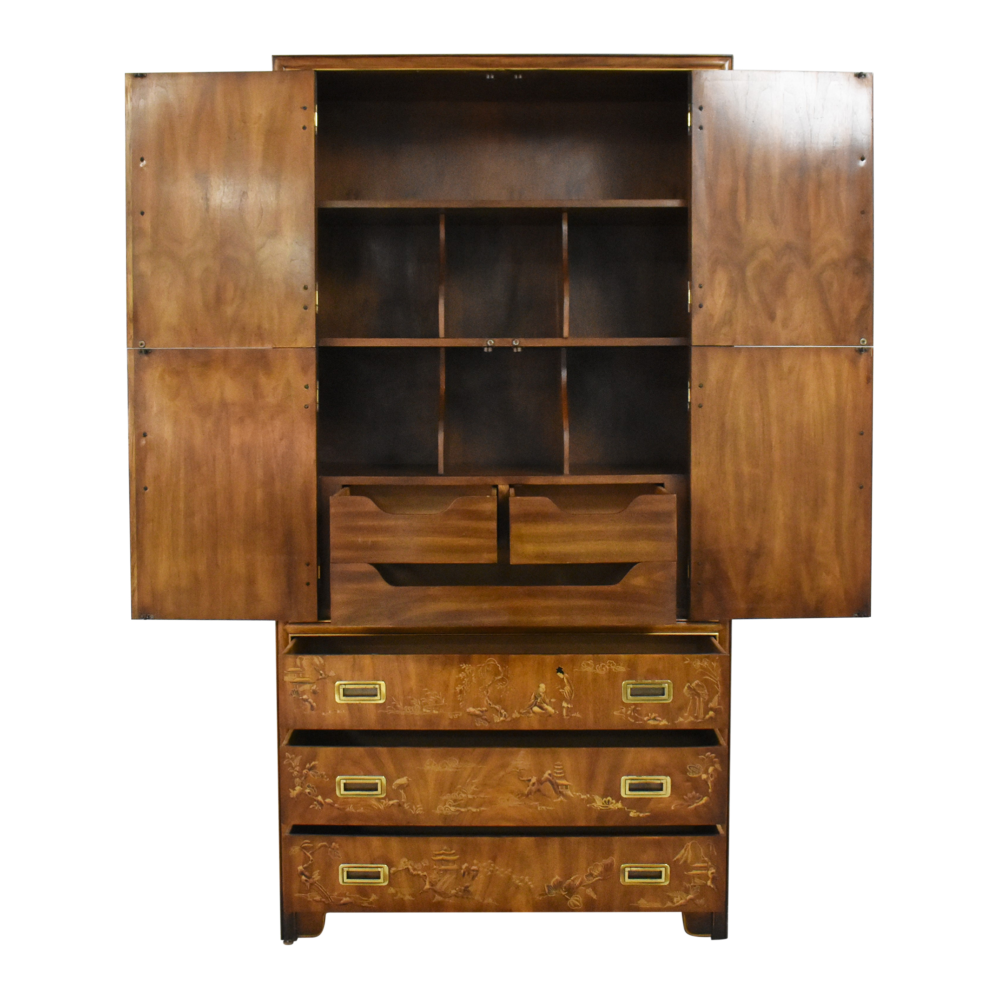 Drexel Heritage Drexel Heritage Dynasty Collection Campaign Armoire ma