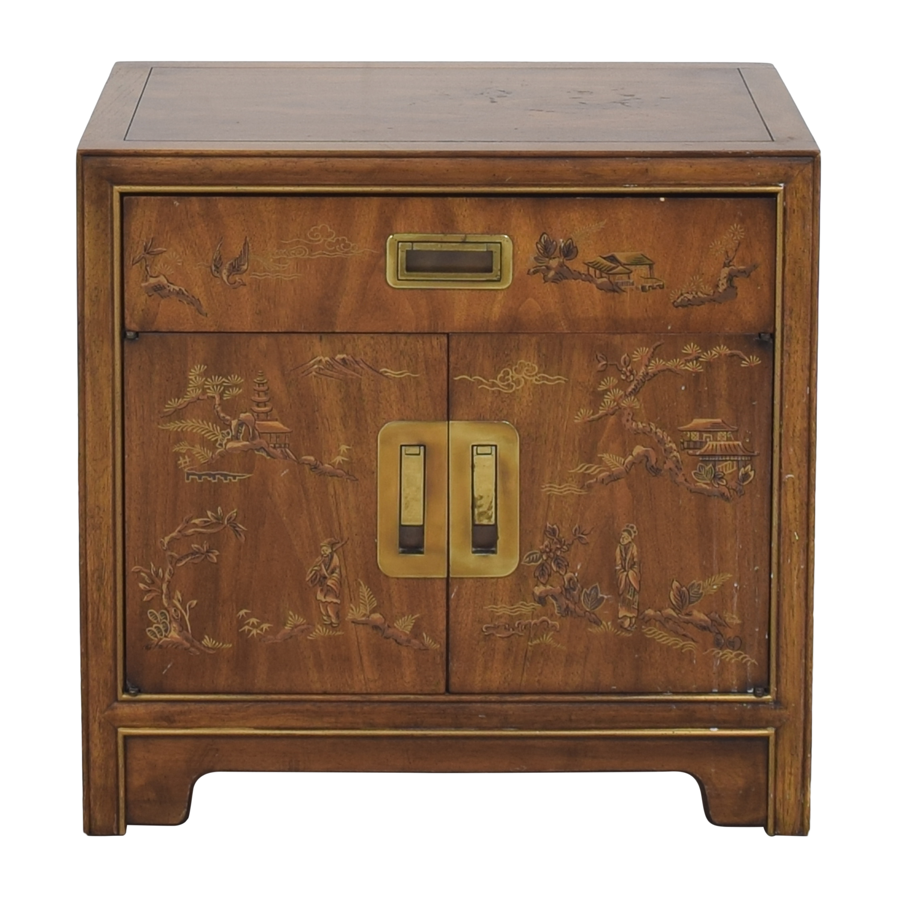 Drexel Heritage Drexel Heritage Dynasty Collection Campaign Nightstand discount