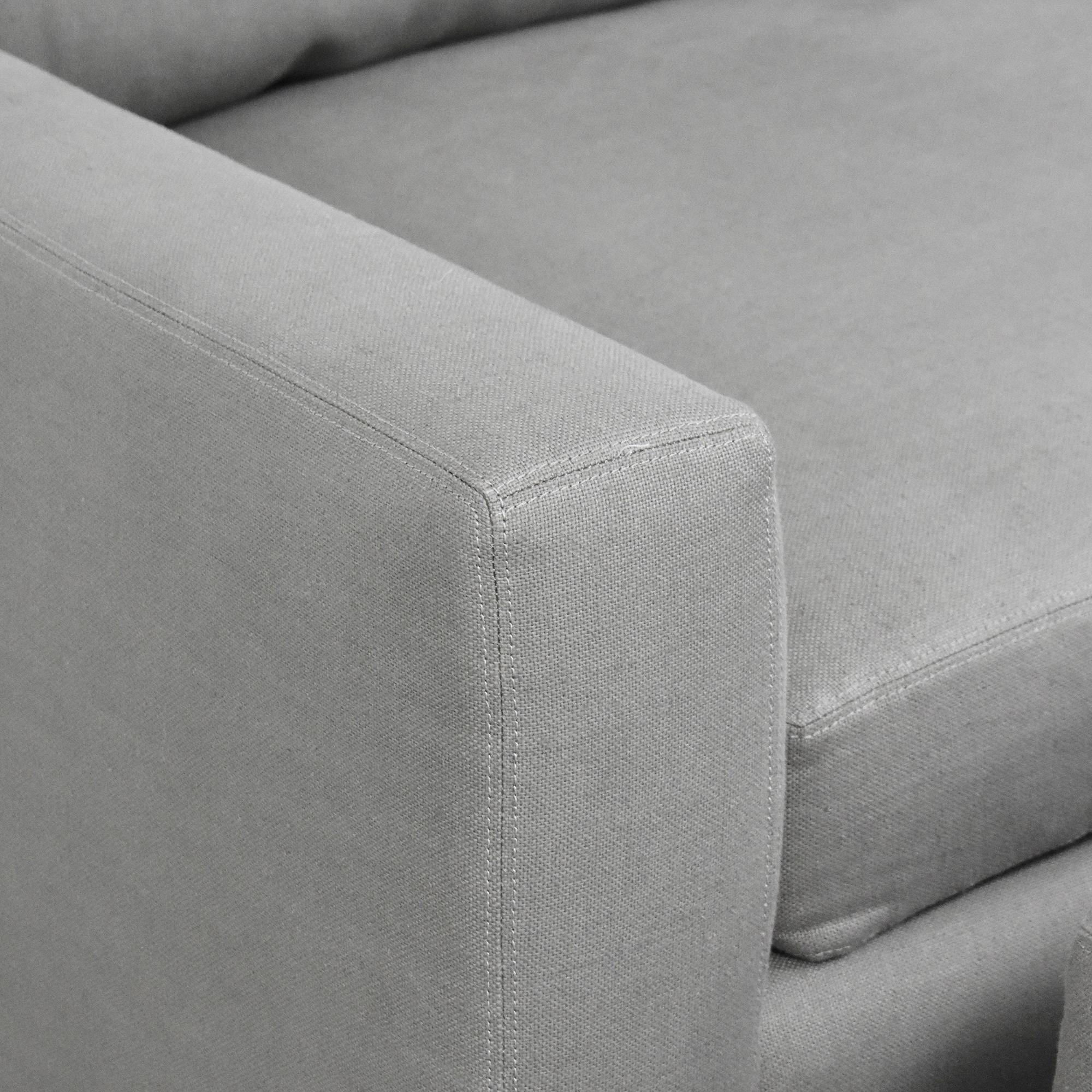 Restoration Hardware Restoration Hardware Maxwell Modular Sofa with Ottomans pa