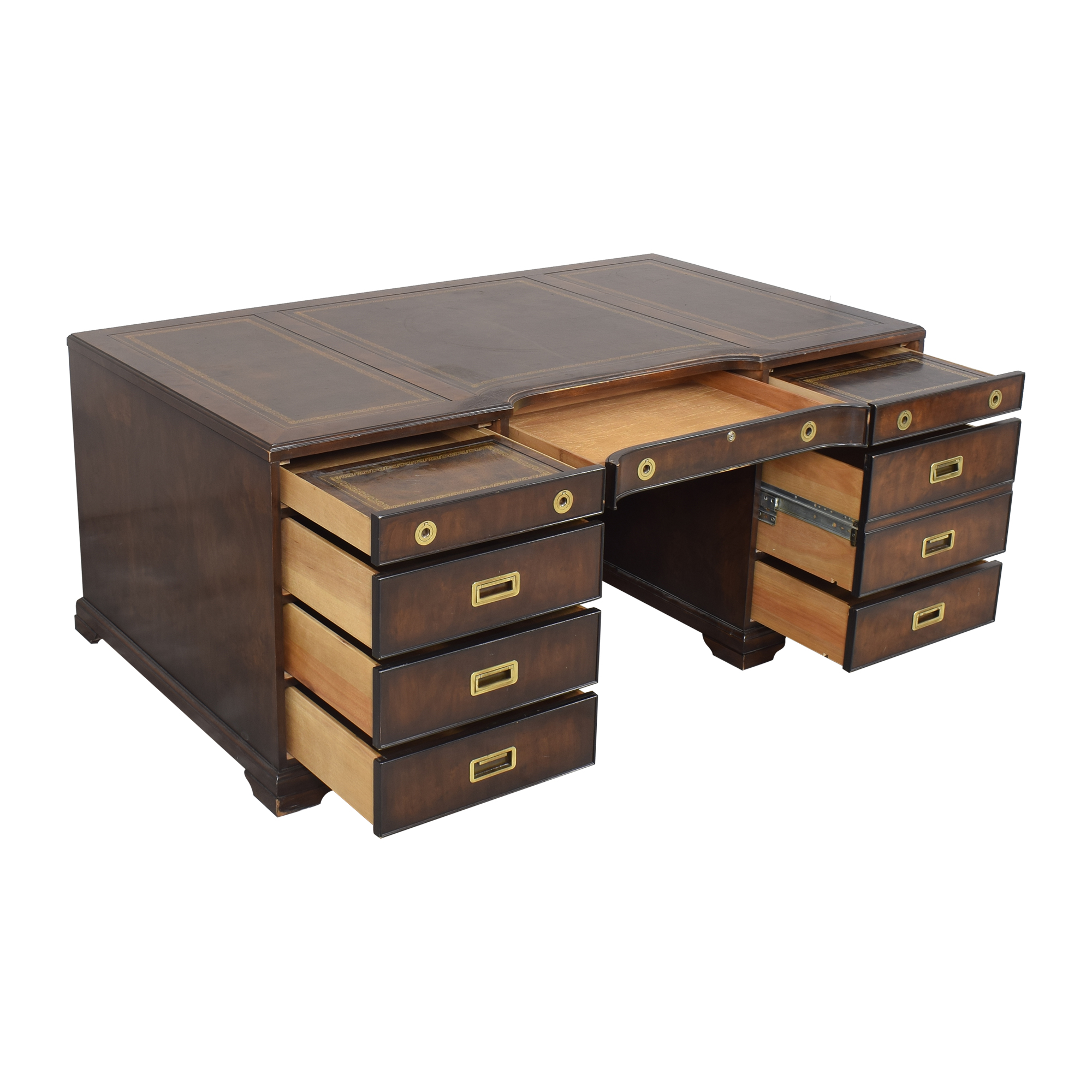 Executive Desk with Drawers and Cabinets nyc