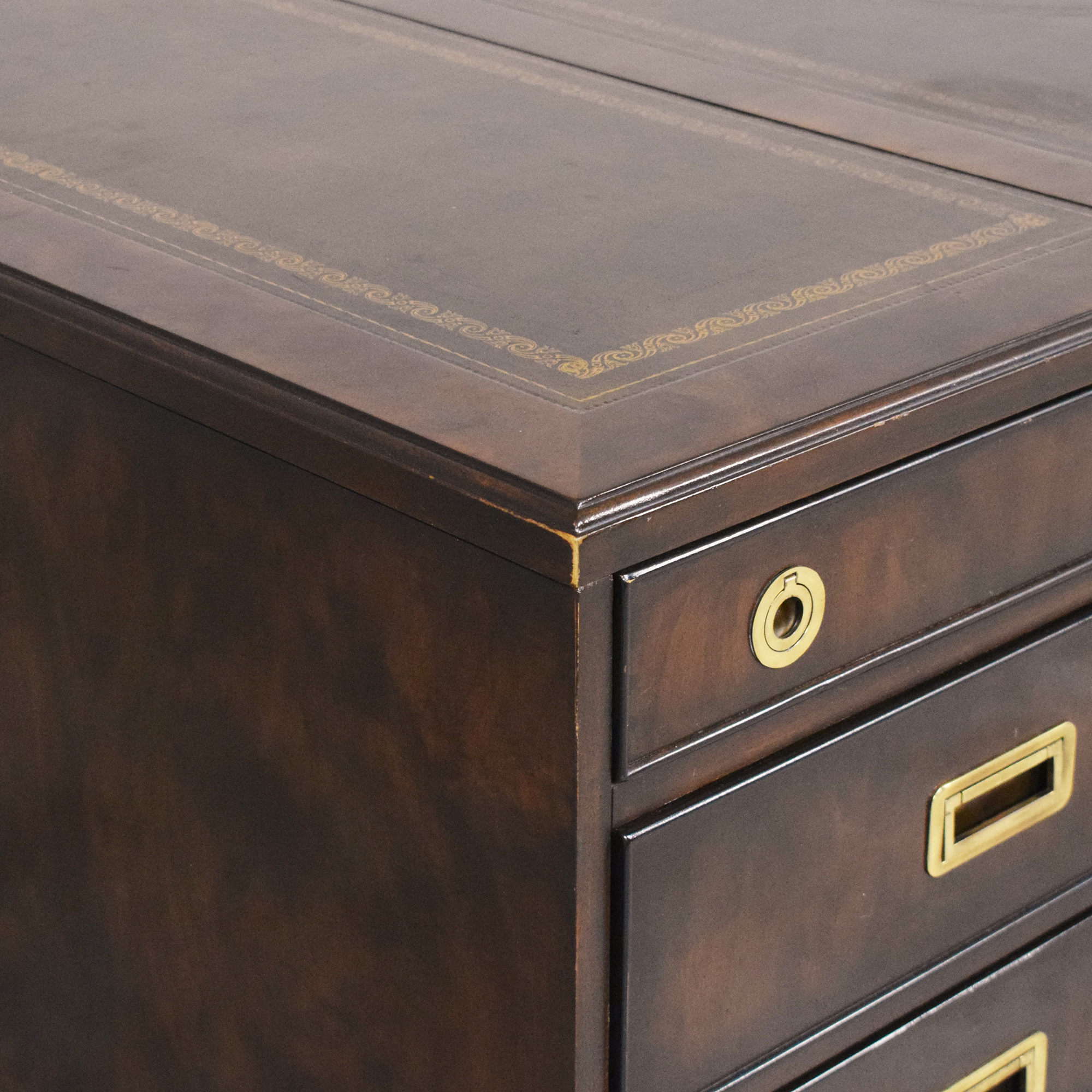 shop Executive Desk with Drawers and Cabinets  Tables