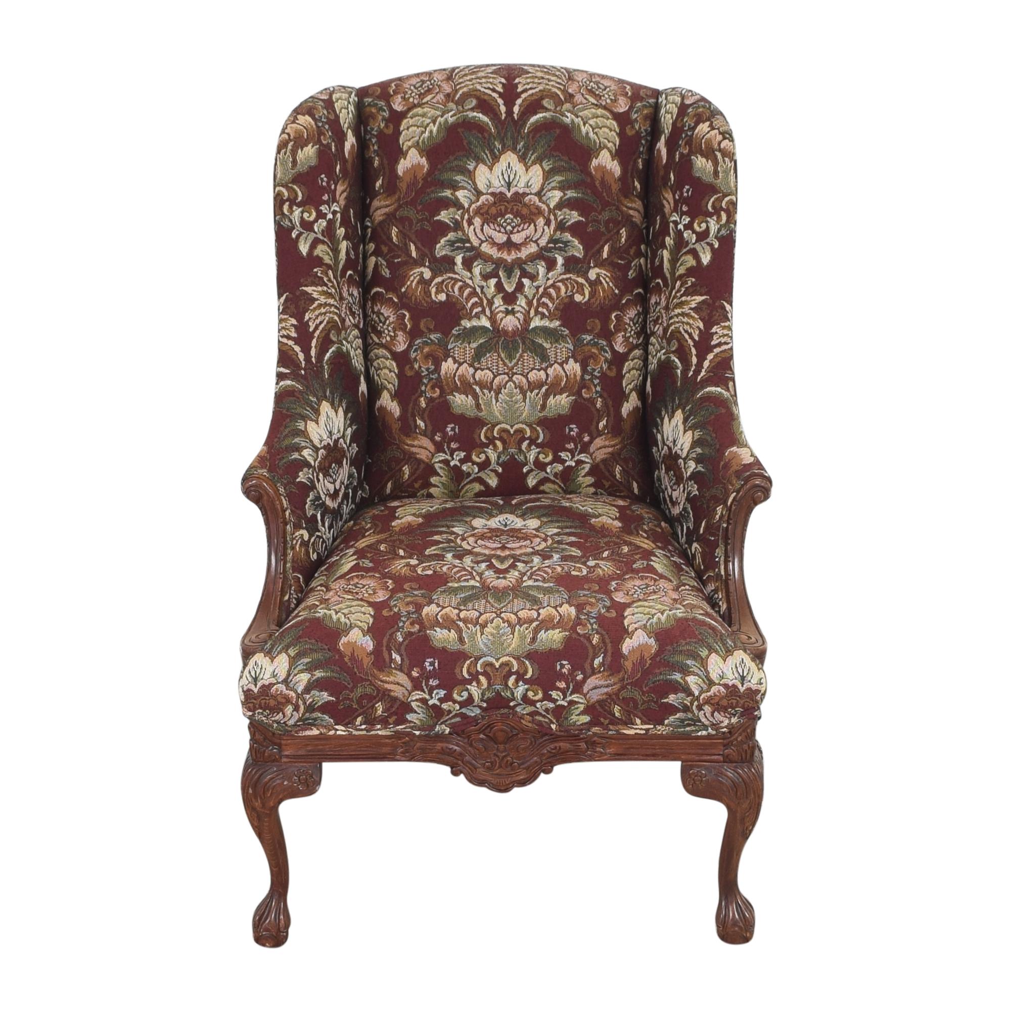 shop Drexel Heritage Drexel Heritage Wing Back Floral Chair online