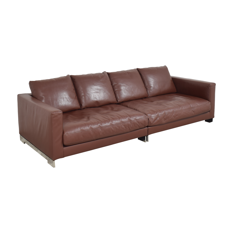 Molteni Molteni Reversi Sectional Sofa dimensions
