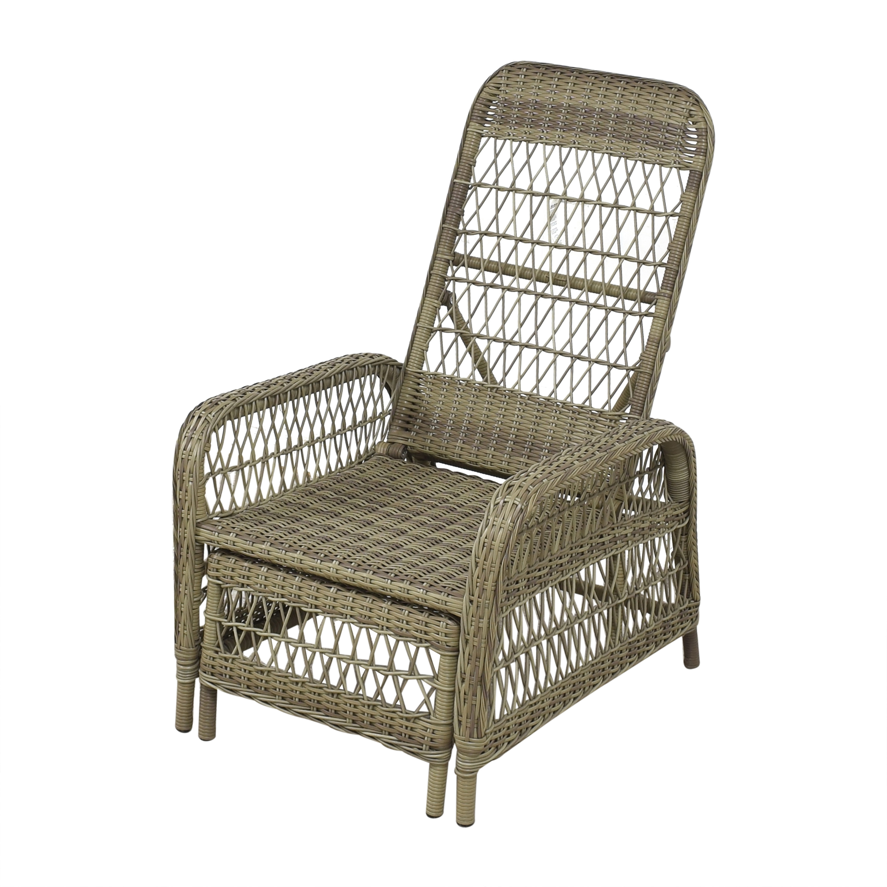 Sika Design Reclining Chair with Extendable Ottoman Sika Design