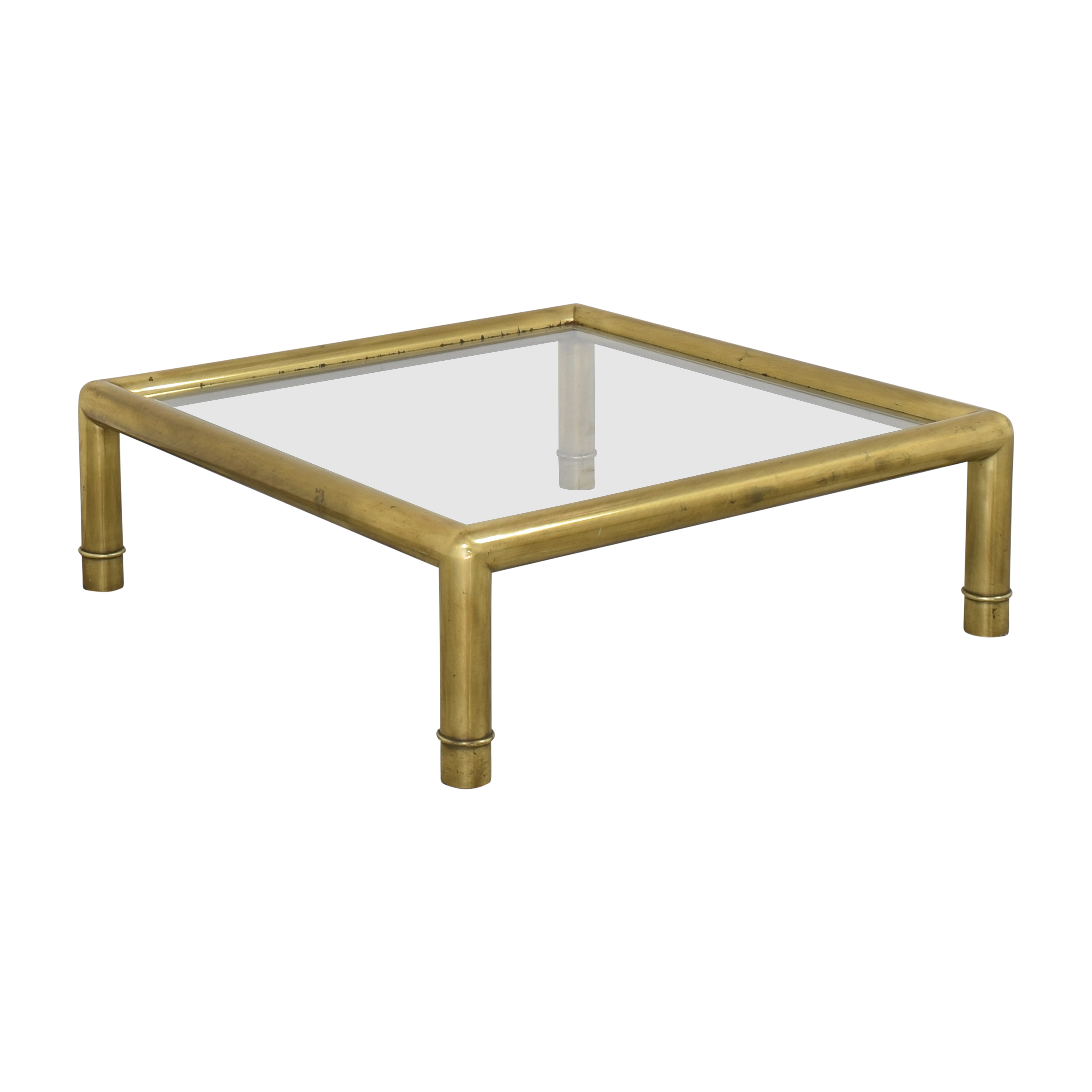 Baker Furniture Baker Furniture Coffee Table with Transparent Surface discount