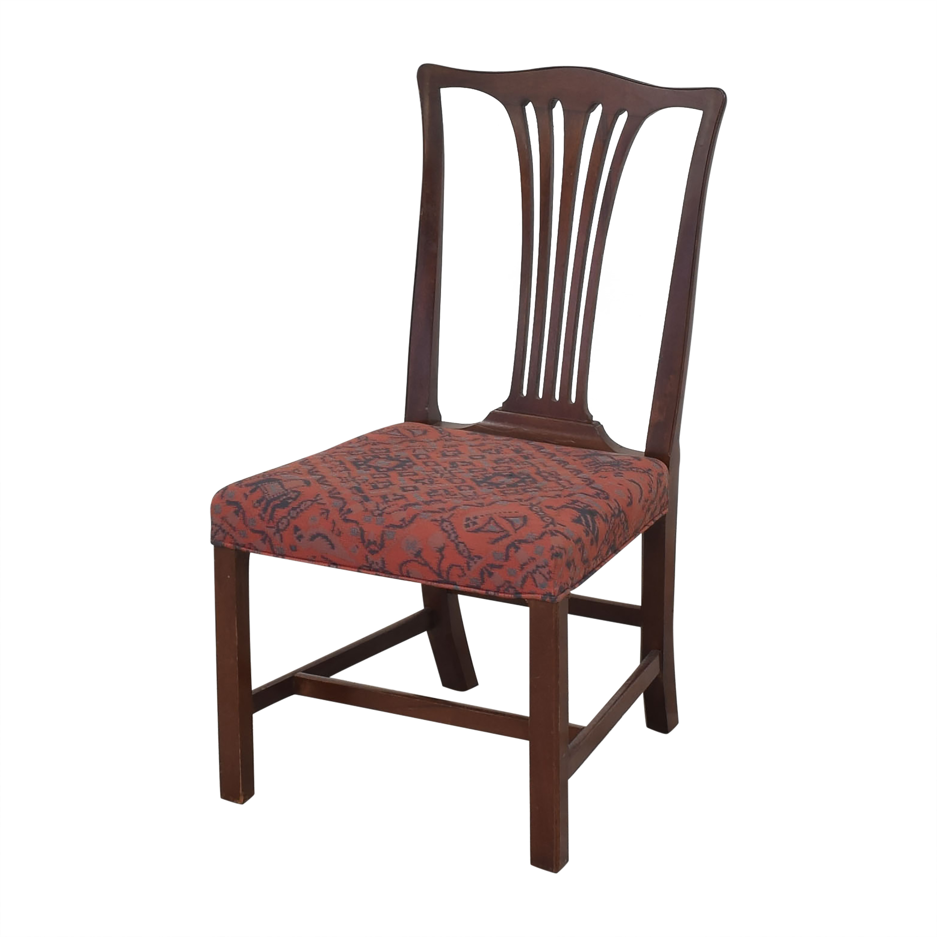 Wood & Hogan Wood & Hogan Country Chippendale Dining Side Chairs dimensions