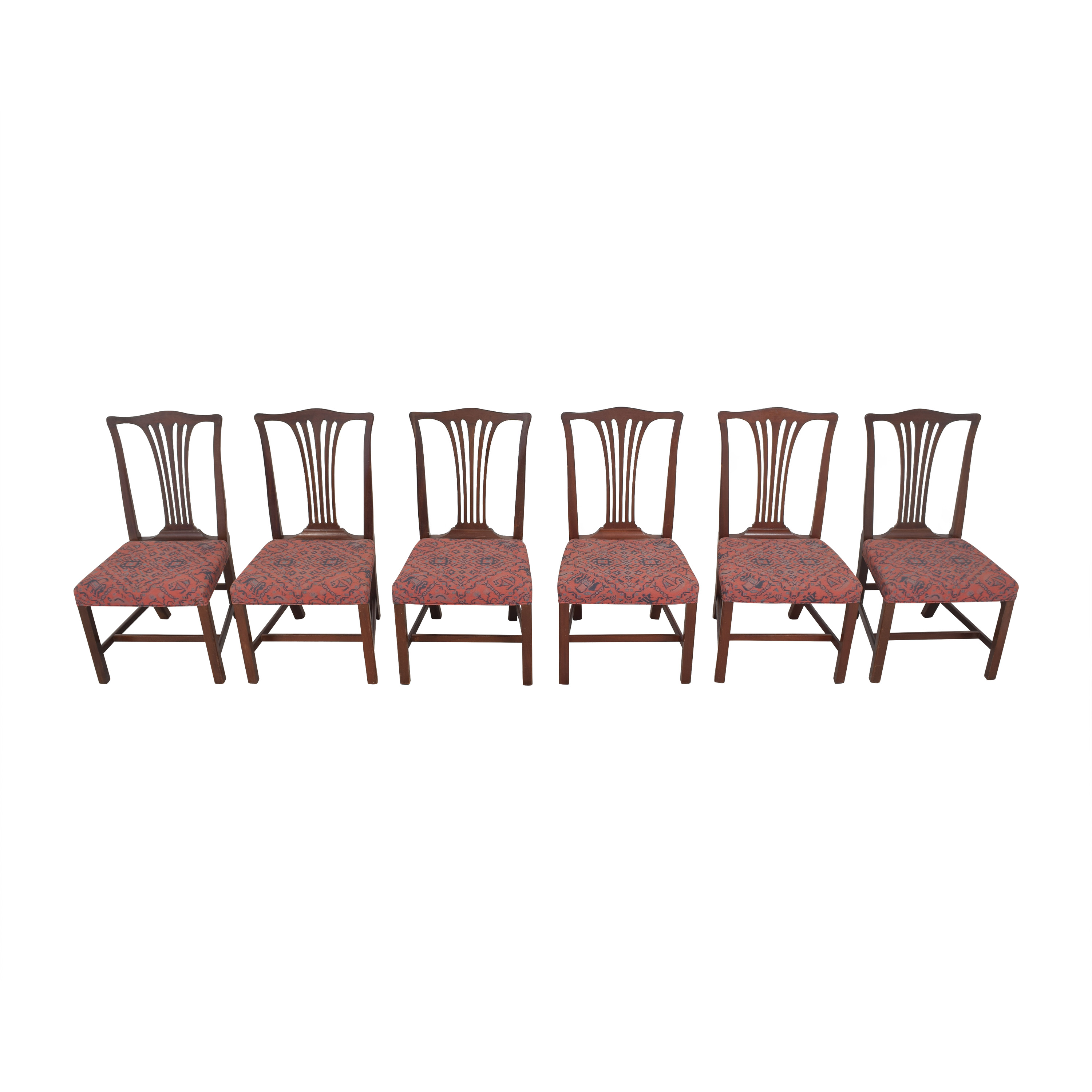 shop Wood & Hogan Wood & Hogan Country Chippendale Dining Side Chairs online