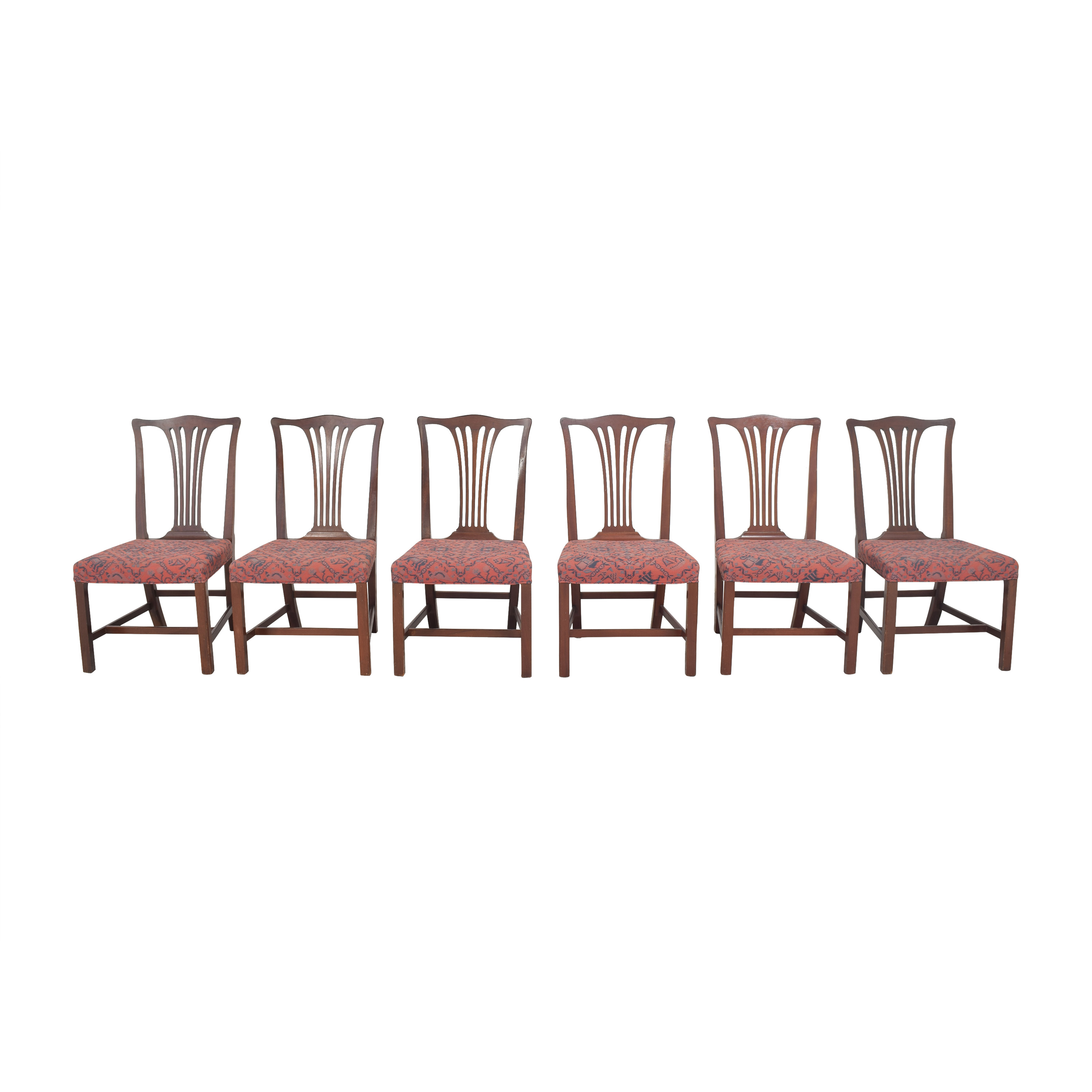 buy Wood & Hogan Country Chippendale Dining Side Chairs Wood & Hogan Dining Chairs