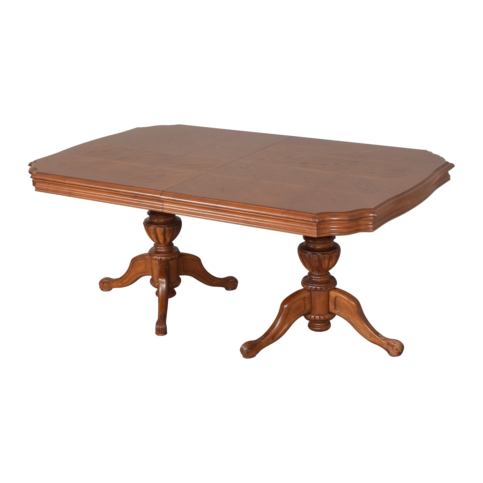 North Carolina Furniture Company North Carolina Furniture Extendable Dining Table second hand