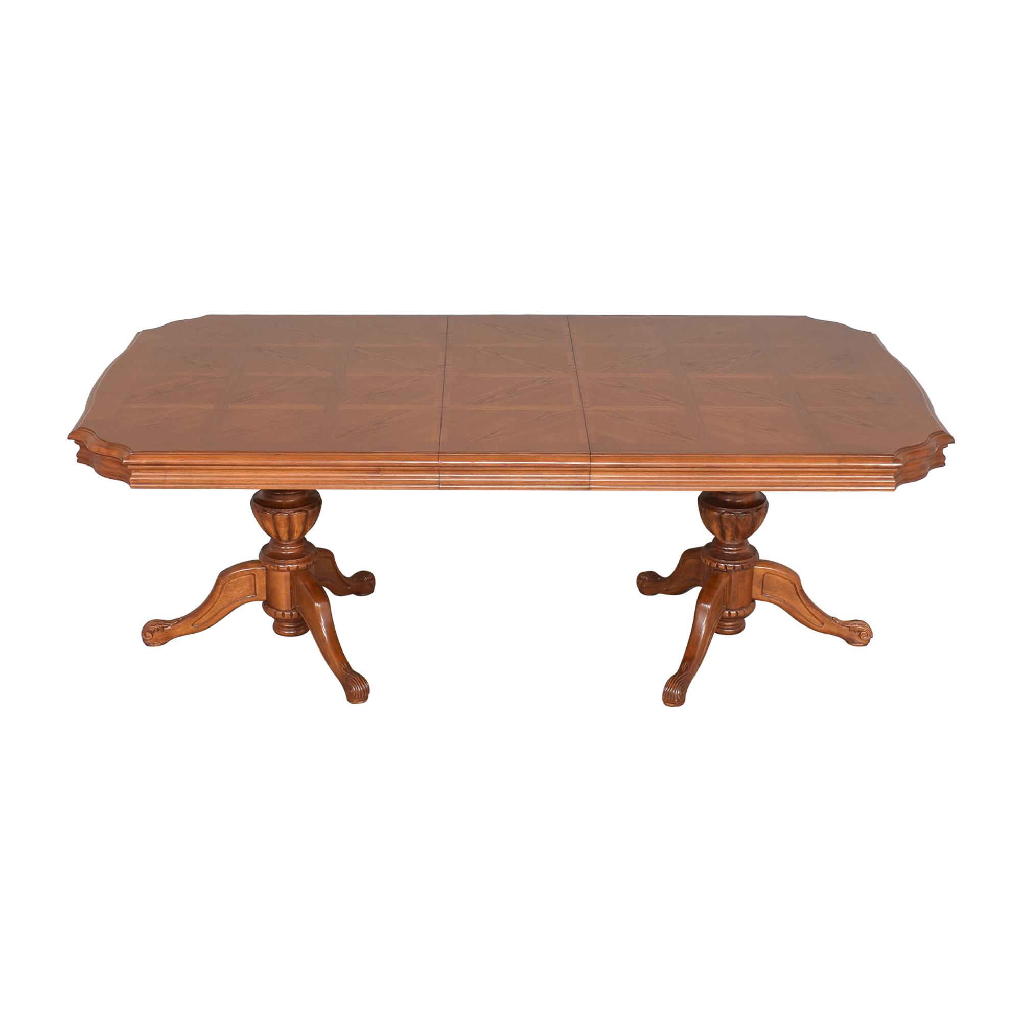 North Carolina Furniture Company North Carolina Furniture Extendable Dining Table price