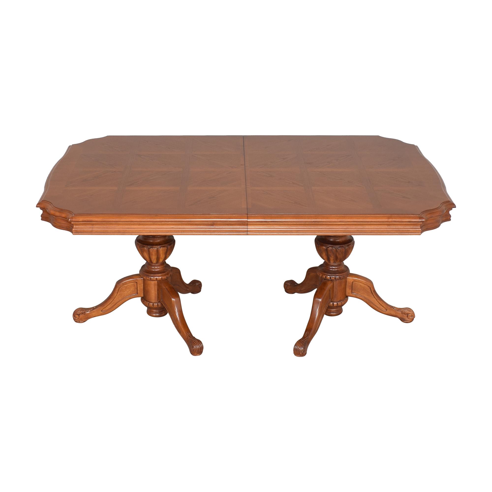 North Carolina Furniture Company North Carolina Furniture Extendable Dining Table for sale