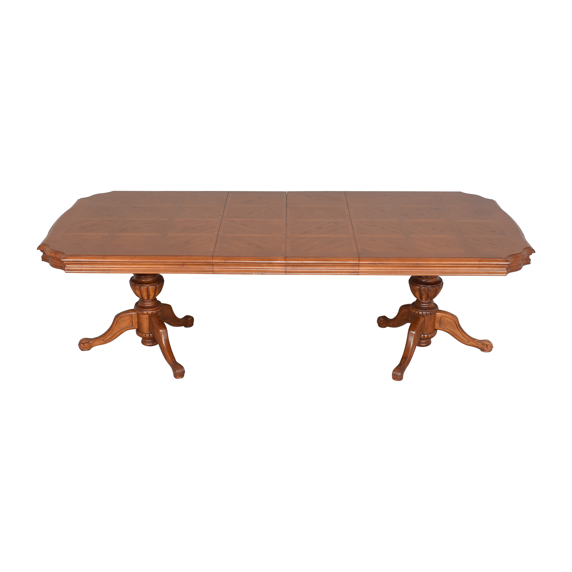 North Carolina Furniture Company North Carolina Furniture Extendable Dining Table dimensions