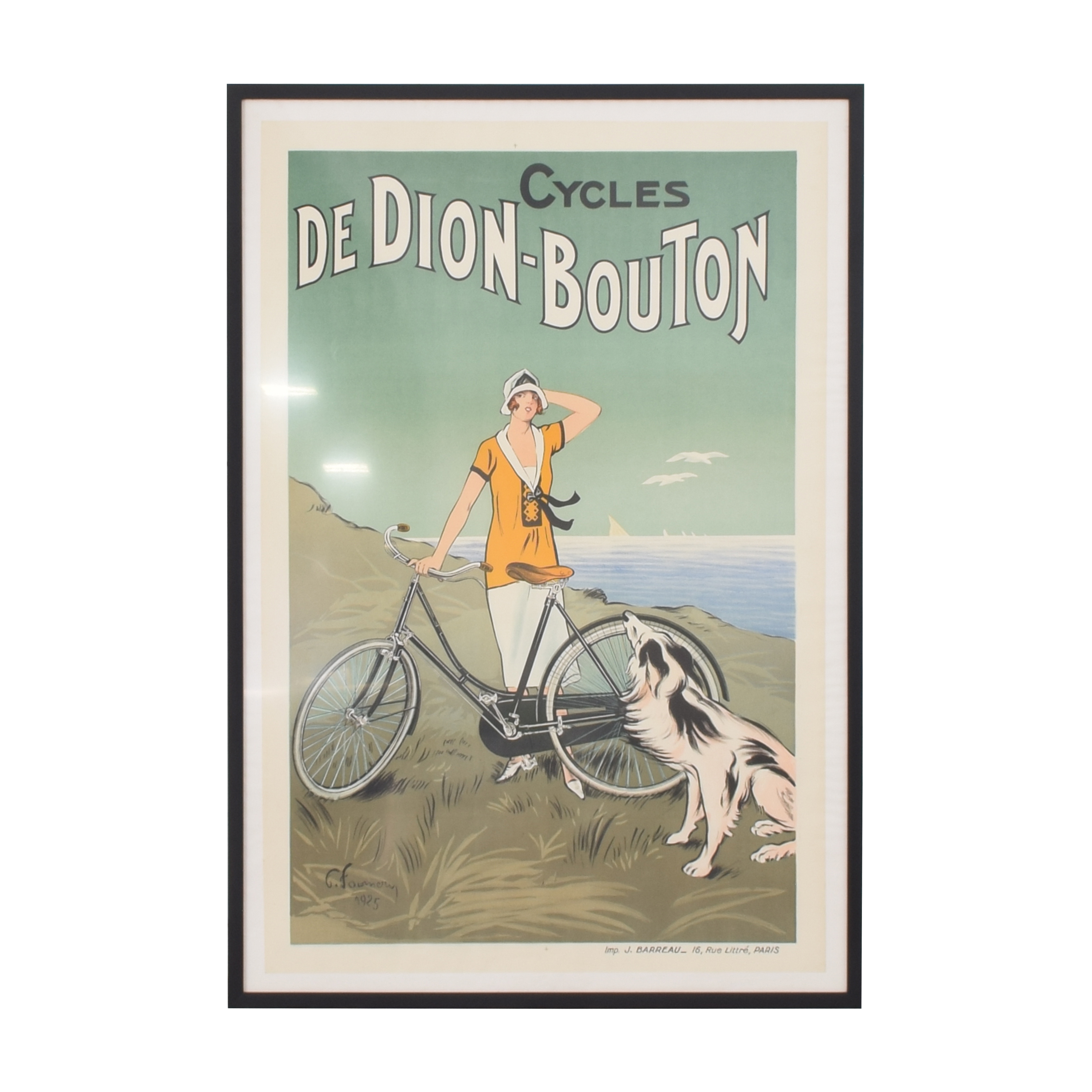 buy  Cycles De Dion-Bouton Framed Poster Wall Art online