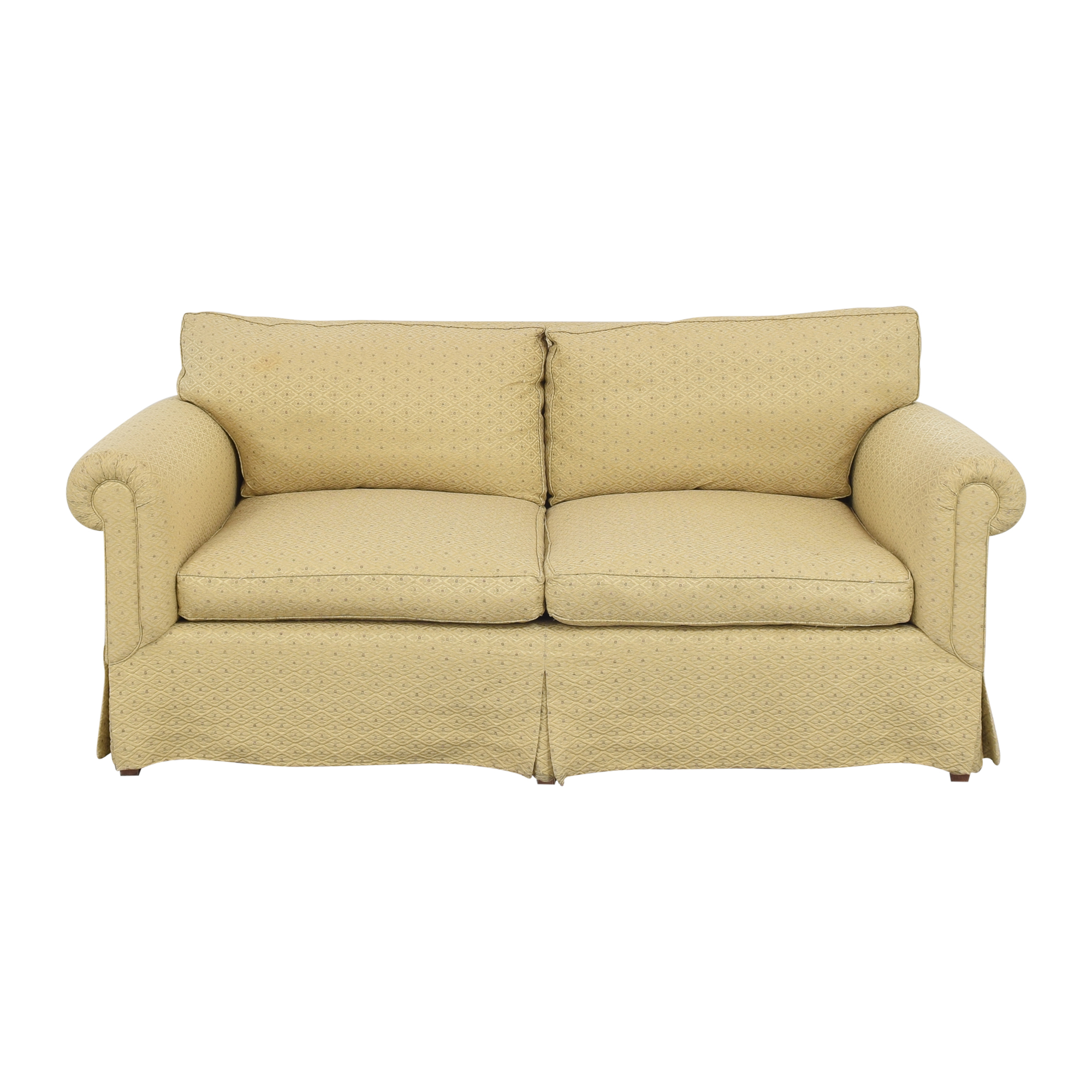 Roll Arm Two Cushion Sofa pa