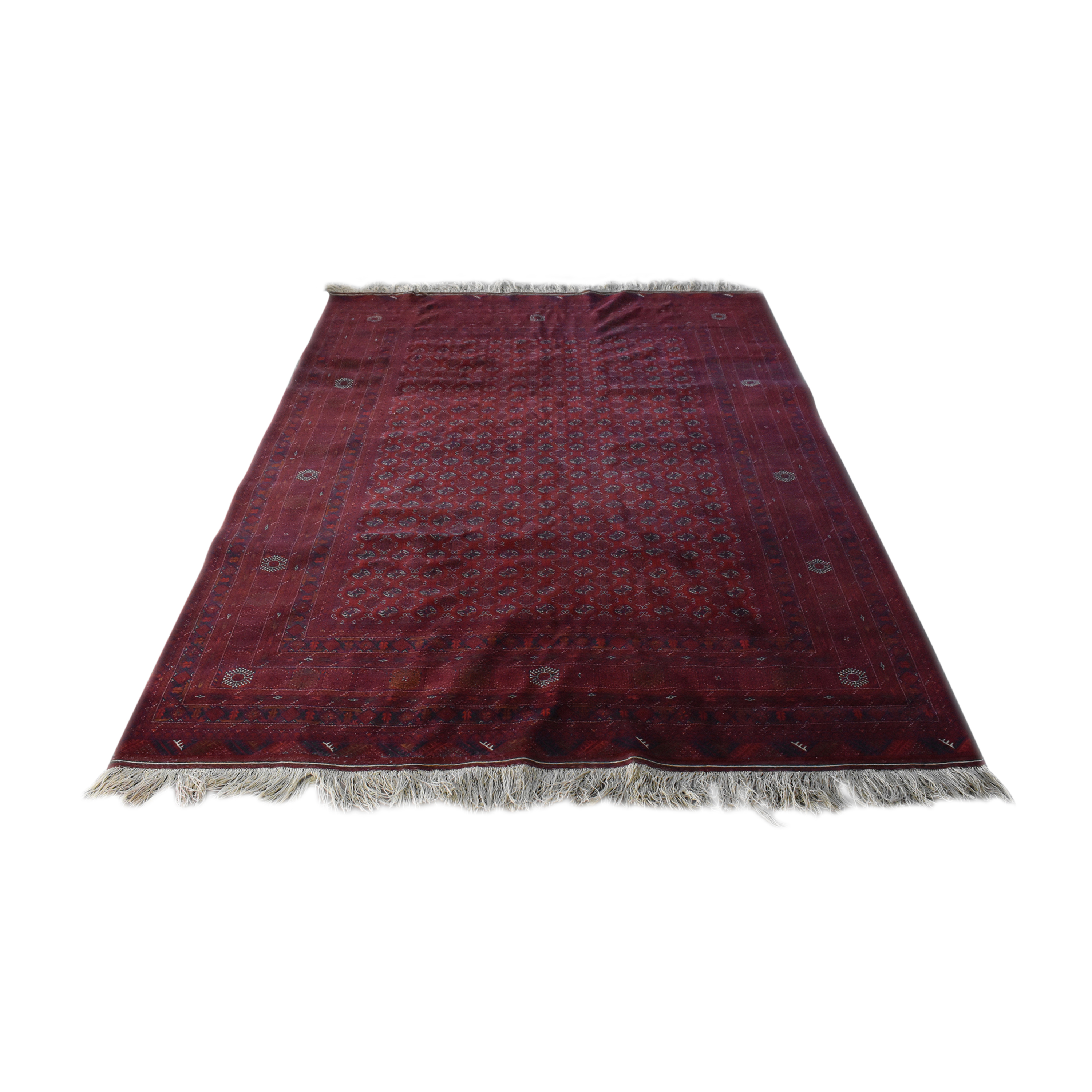 Bokhara-Style Patterned Area Rug for sale