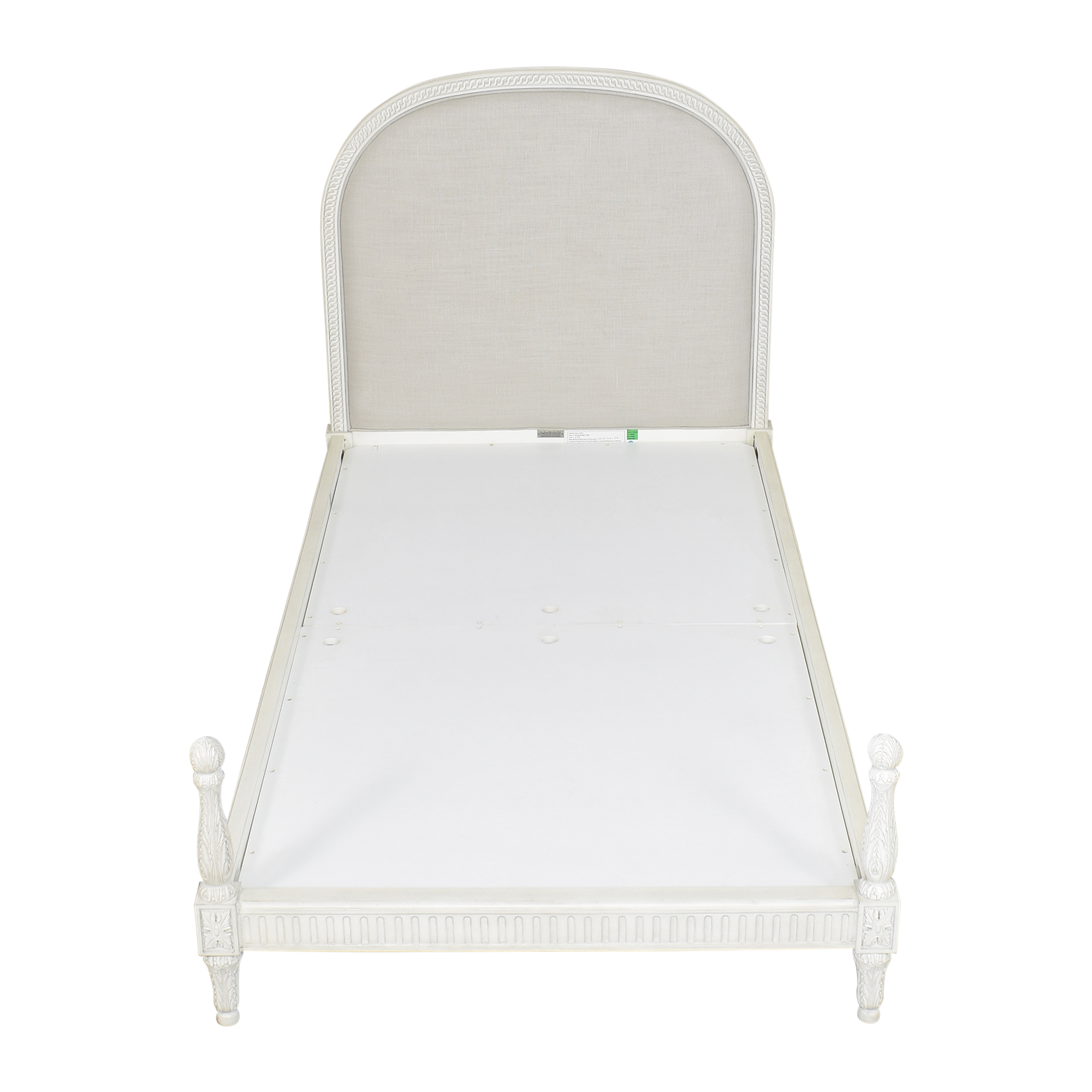 shop RH Baby & Child Upholstered Twin Bed RH Baby & Child Beds