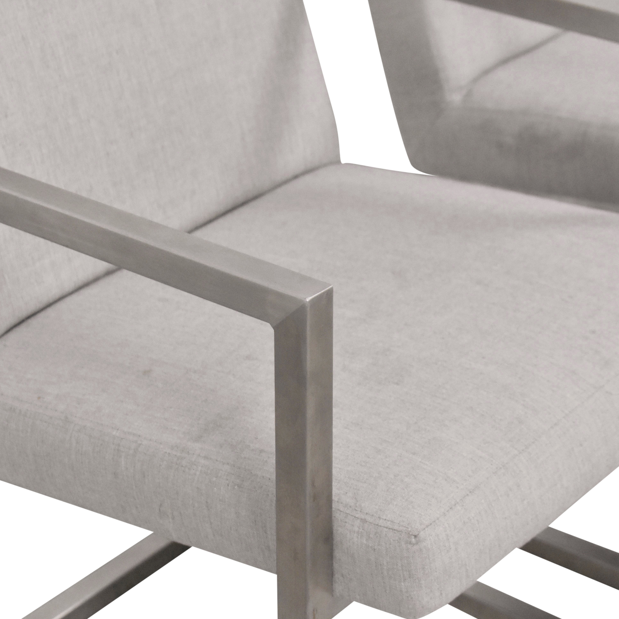 shop Room & Board Lira Dining Arm Chairs Room & Board