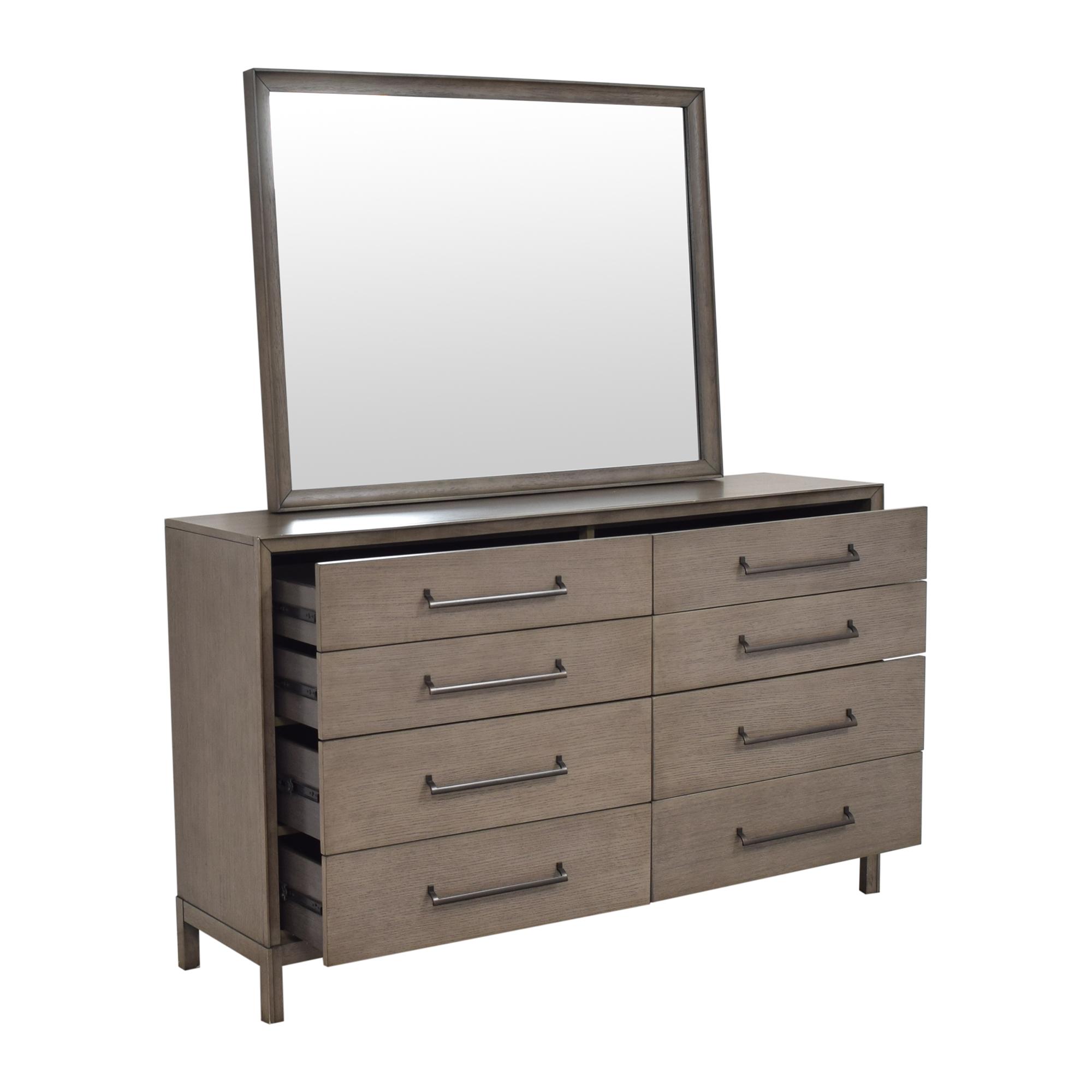 Casana Furniture Casana Double Dresser with Mirror Dressers
