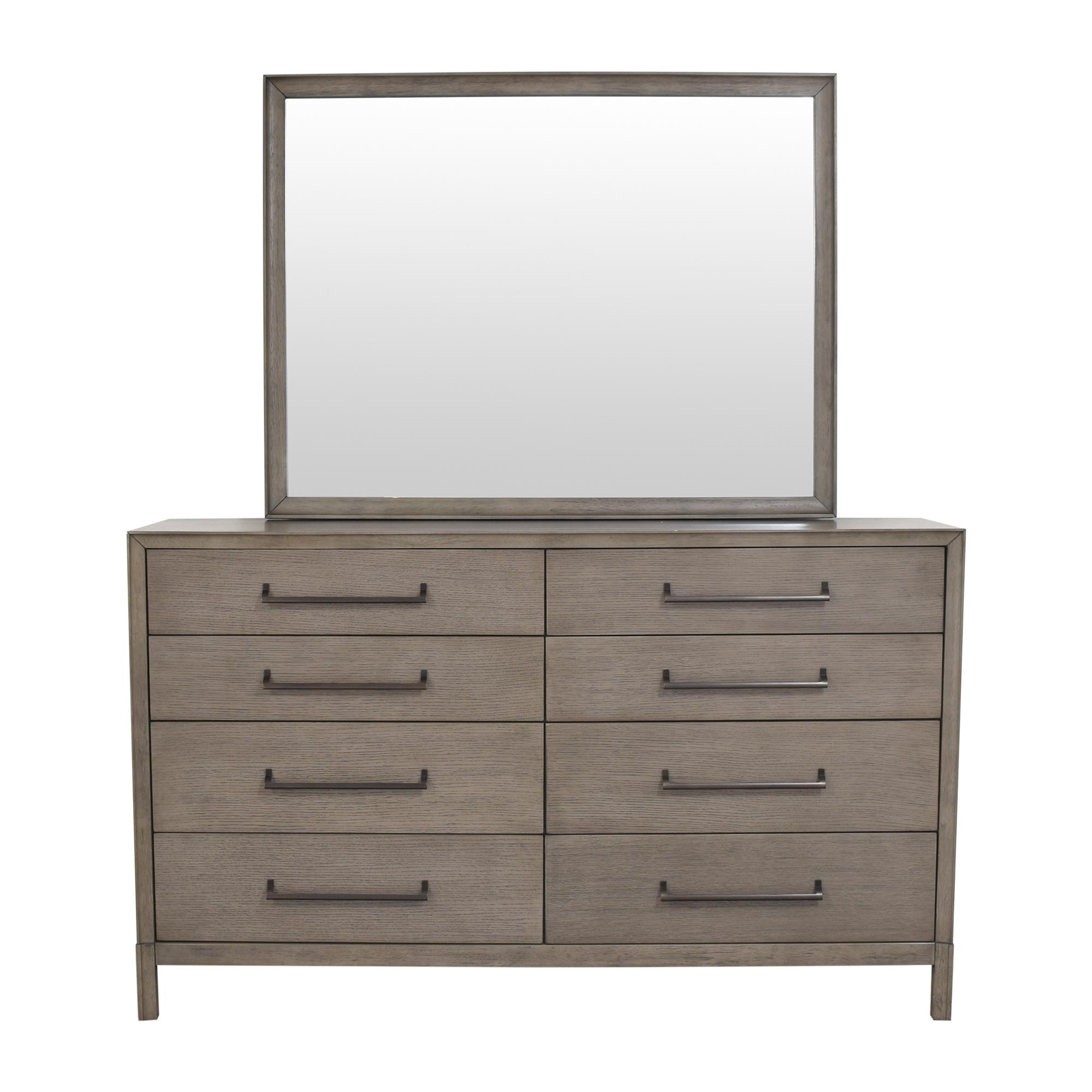 Casana Furniture Casana Double Dresser with Mirror coupon