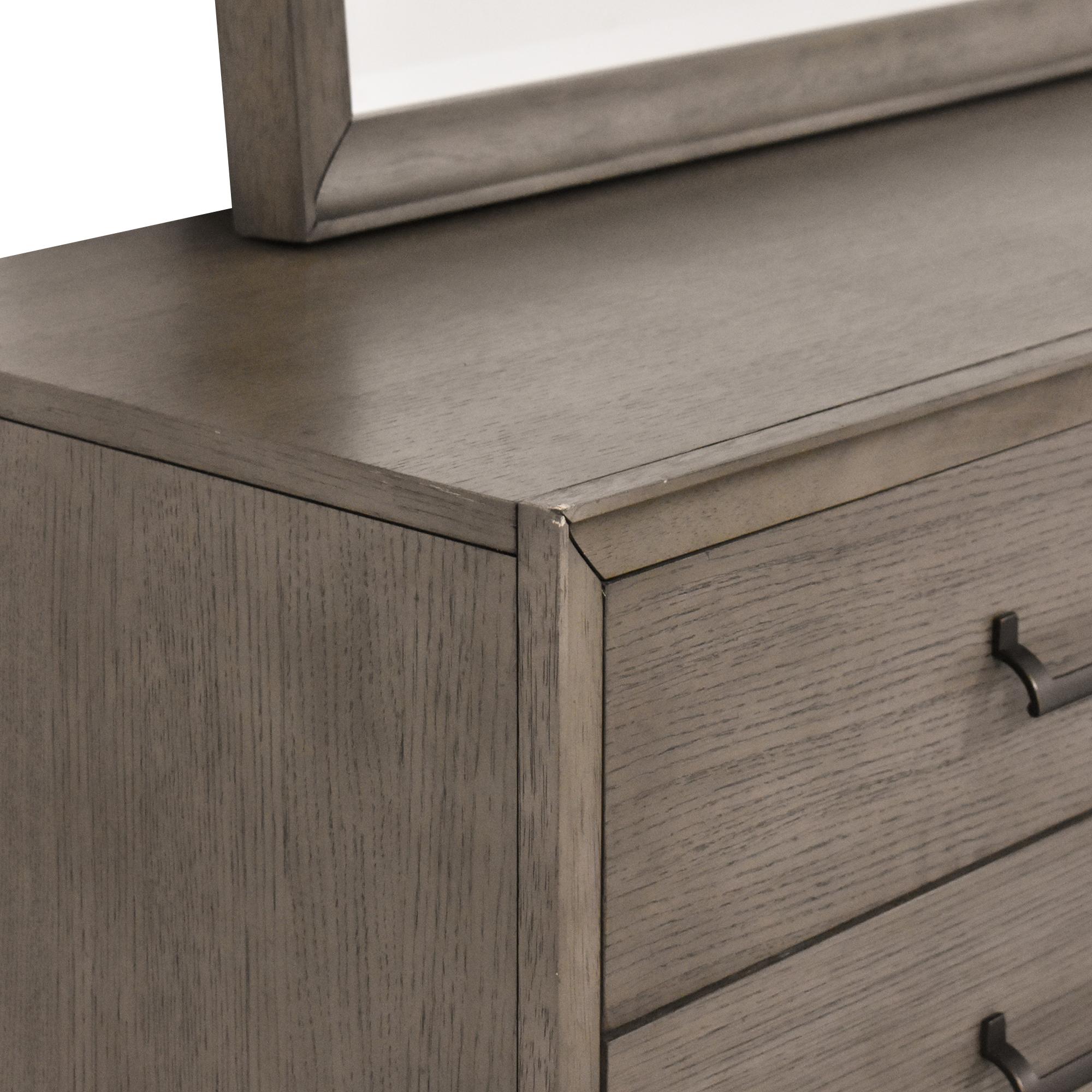 Casana Furniture Casana Double Dresser with Mirror price