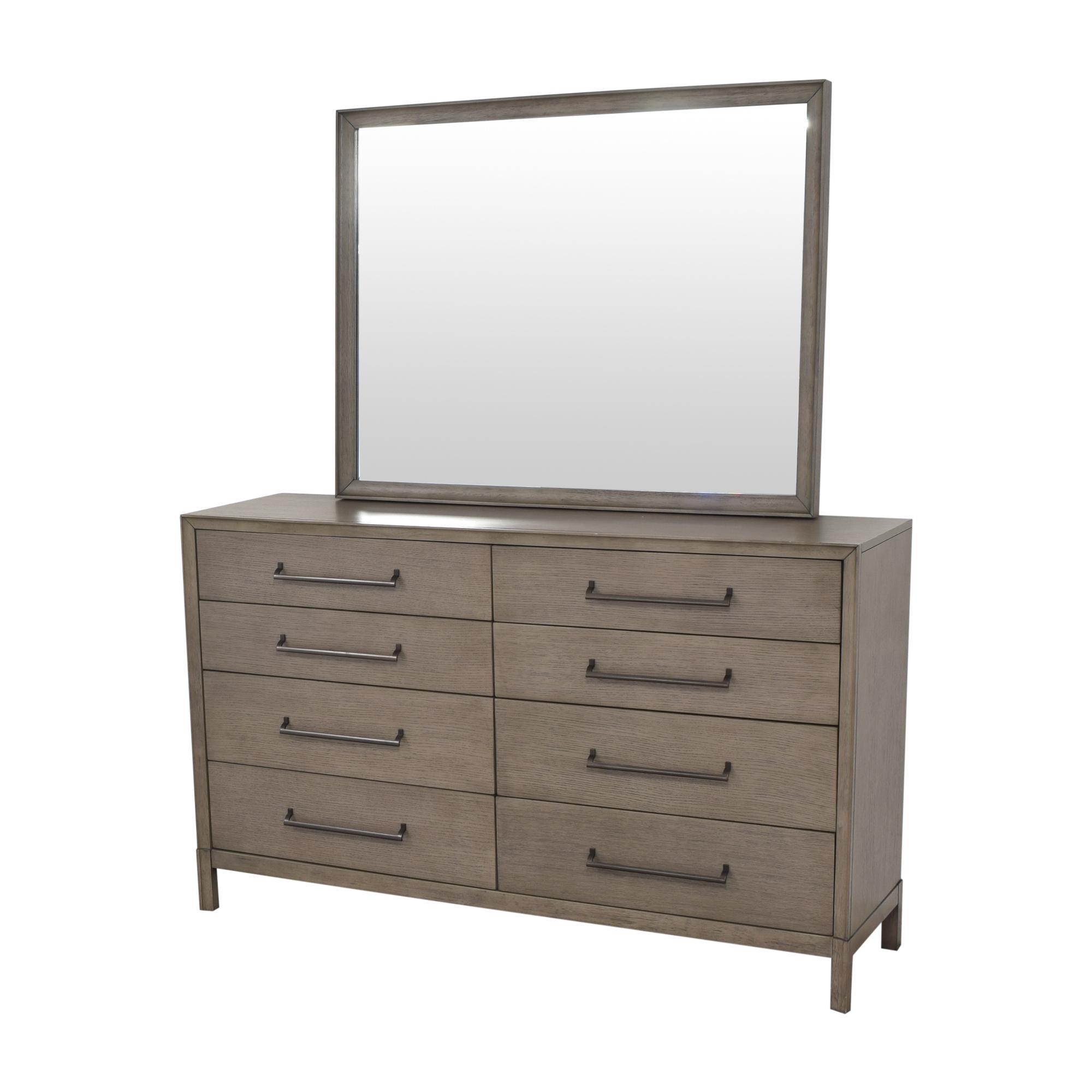 Casana Double Dresser with Mirror sale